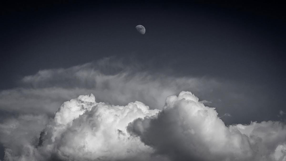 Moon in the sky...
