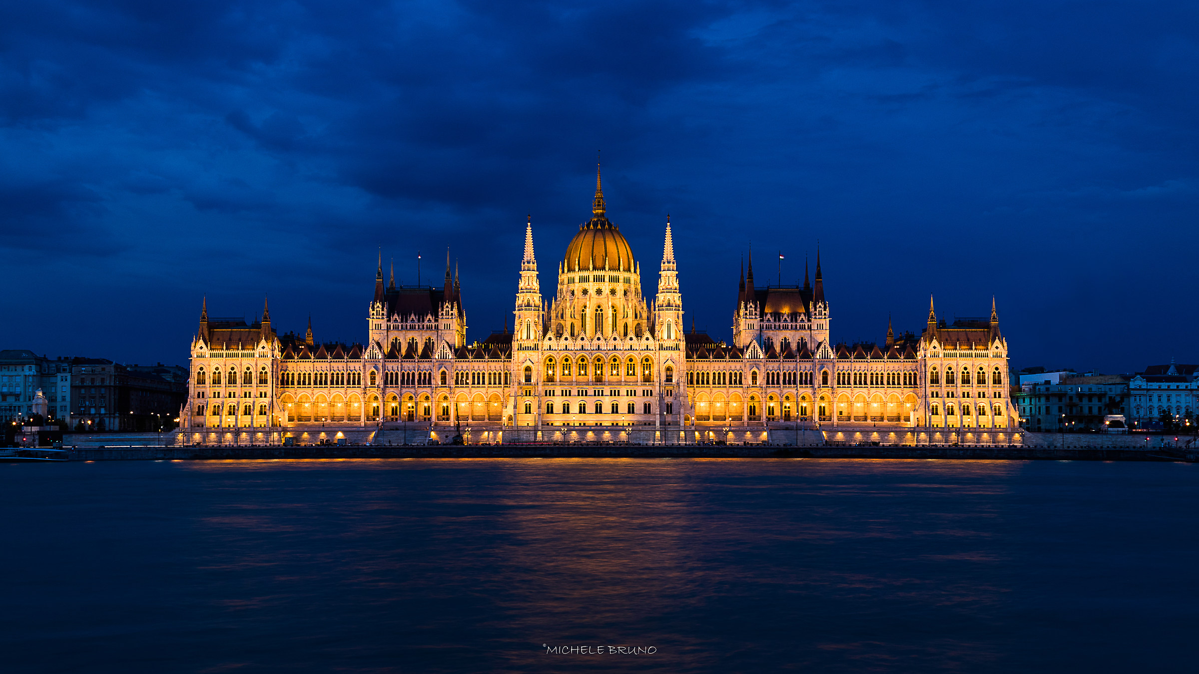 Budapest In Blue...