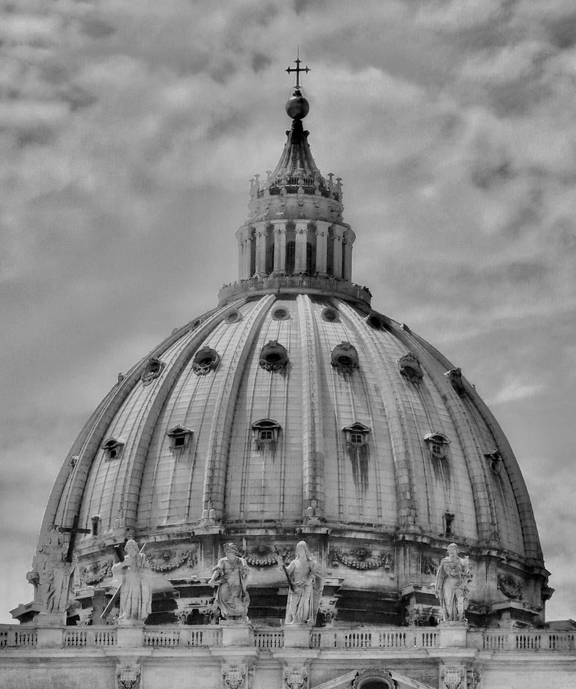 Rome. St. Peter. The dome. ...