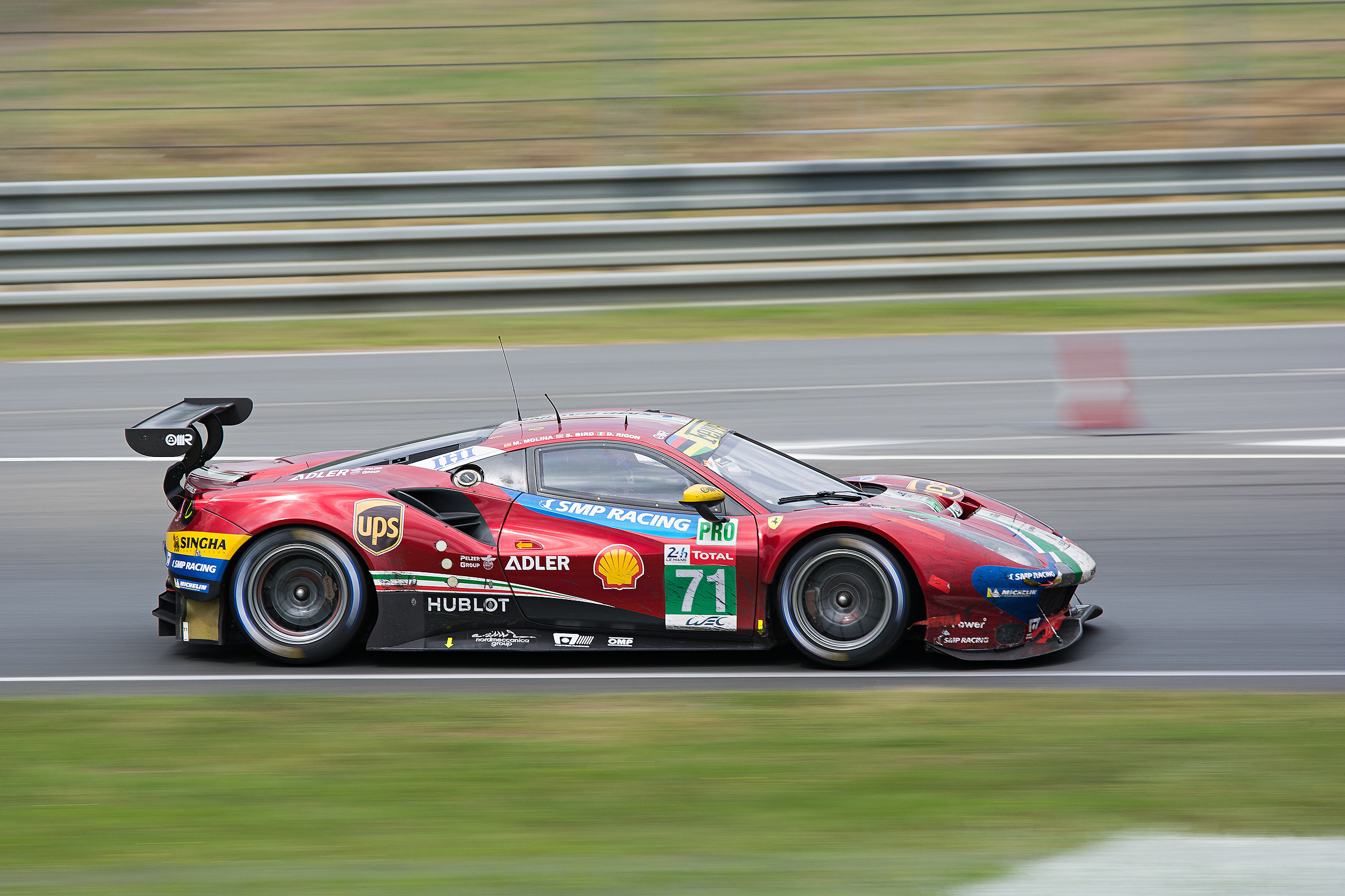 WEC GTPro Ferrari 488 Track-24hrs LeMans...