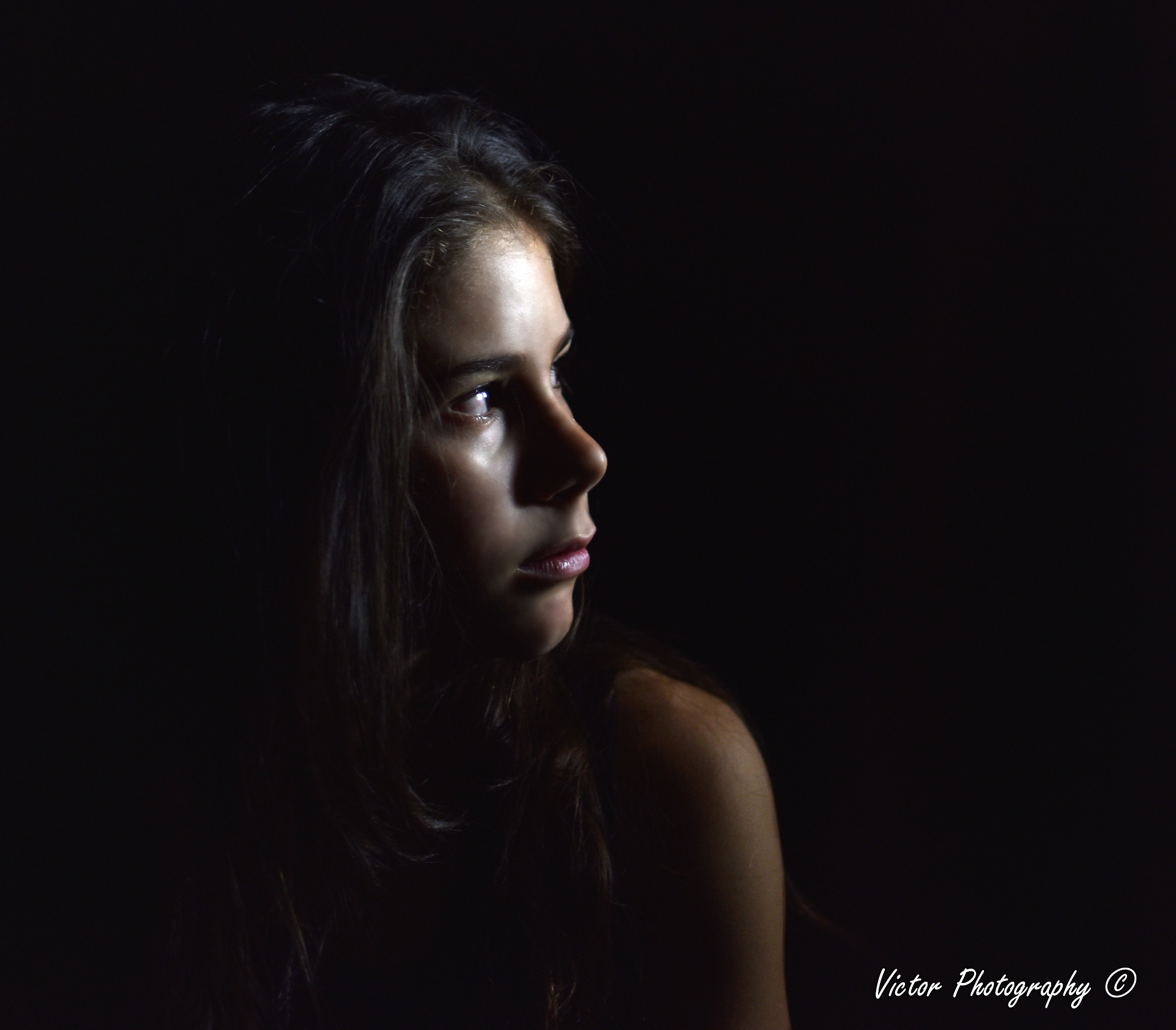 A look in the dark...