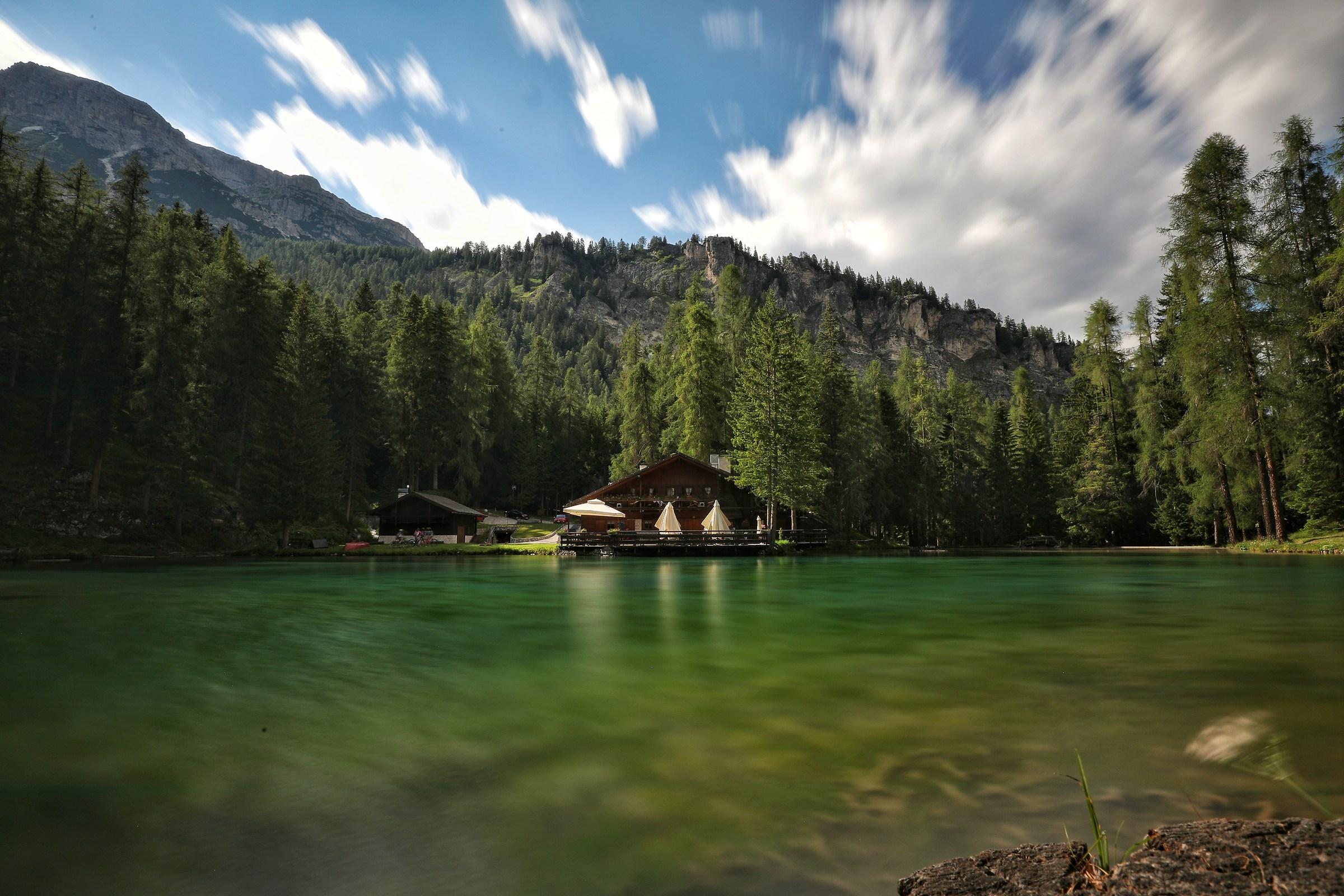 Lake Ghedina...