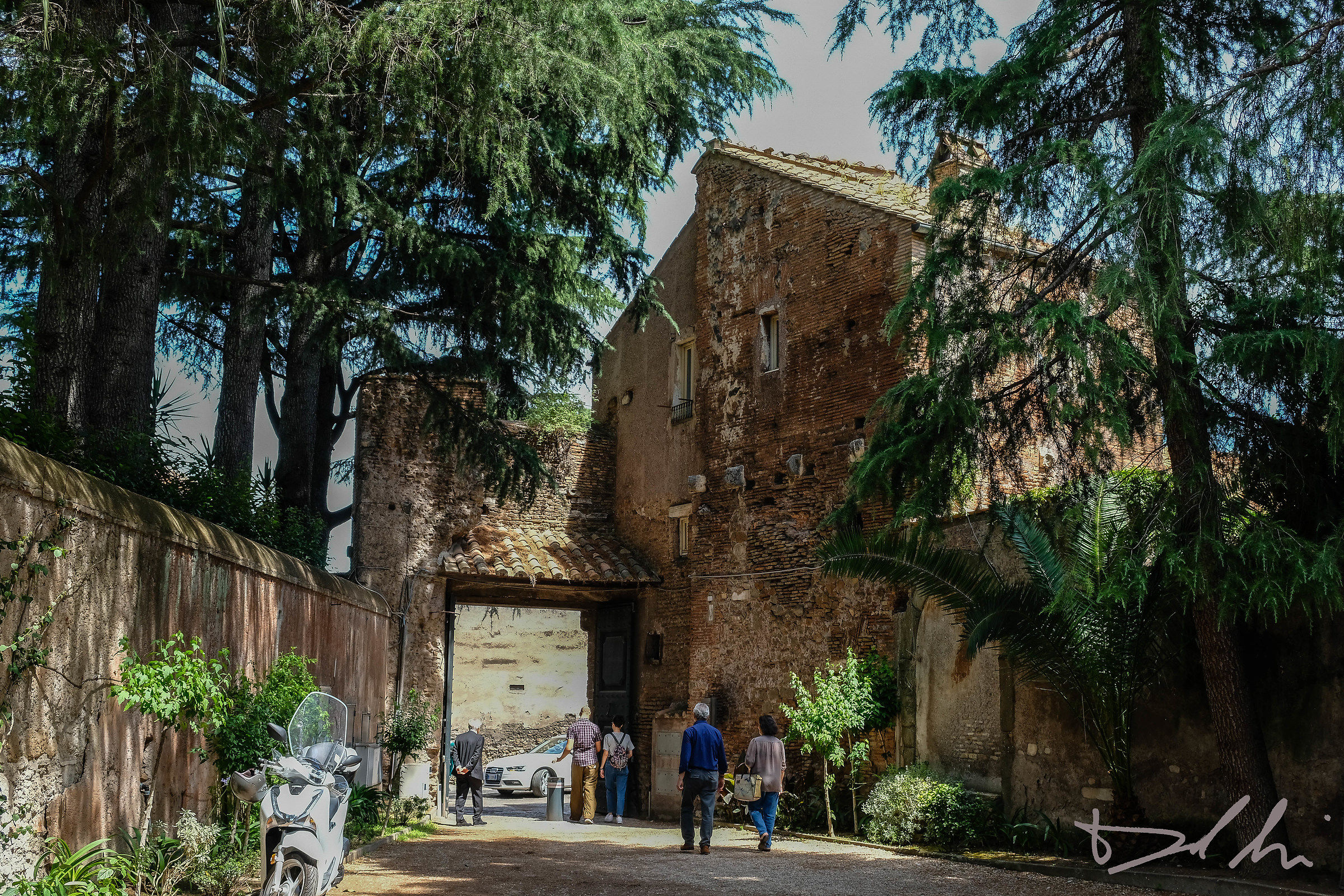 Entrata Santo Stefano Rotondo...
