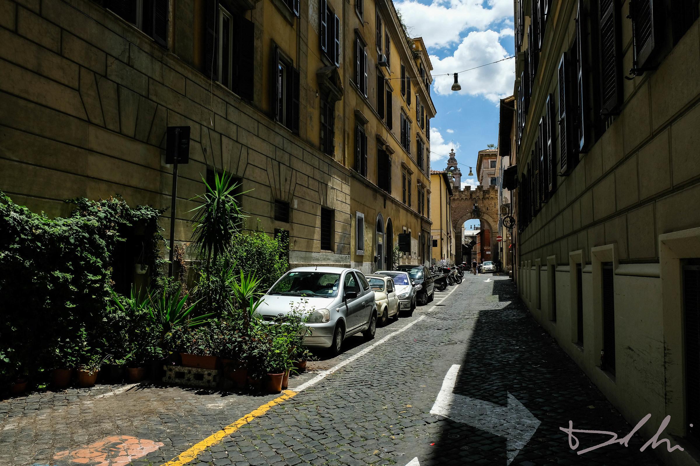 Strade di Borgo Pio...
