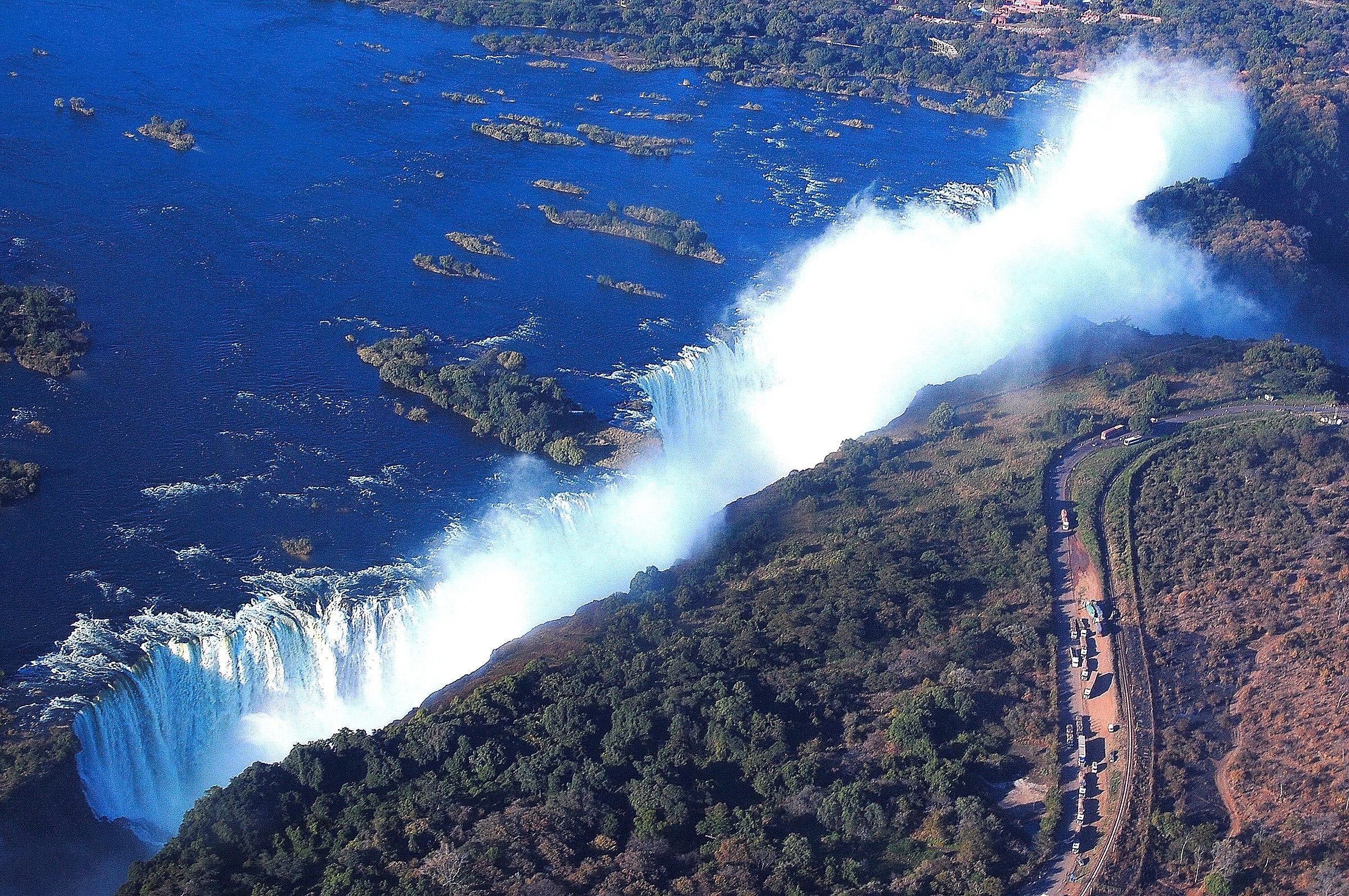 Zambesi River and Victoria Falls...