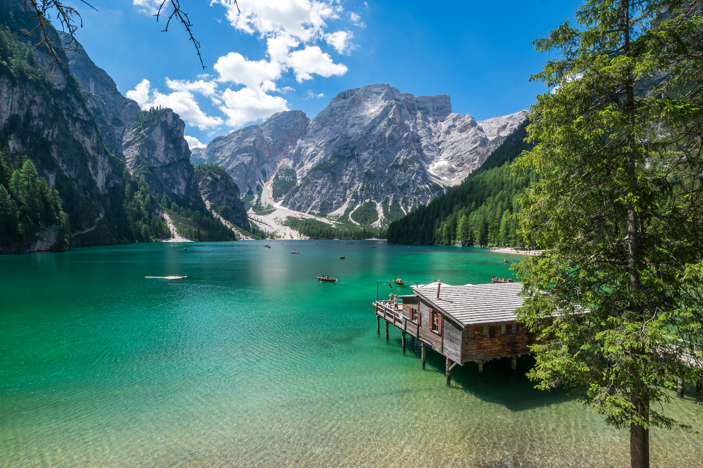 The wonderful Lake of Braies...
