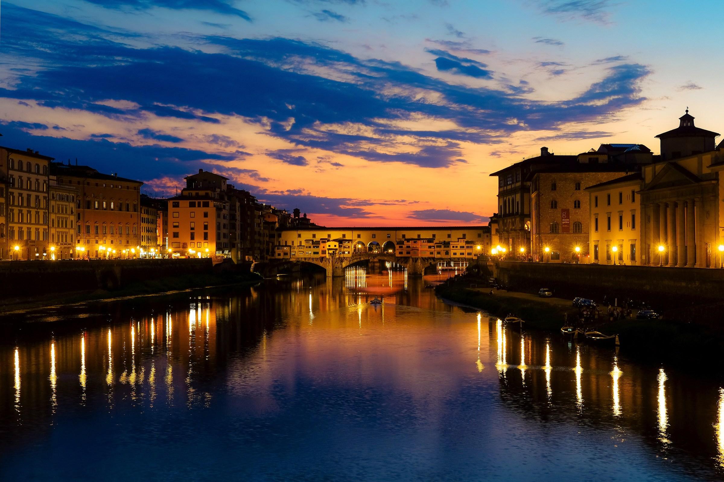 Ponte Vecchio, luglio 2018...