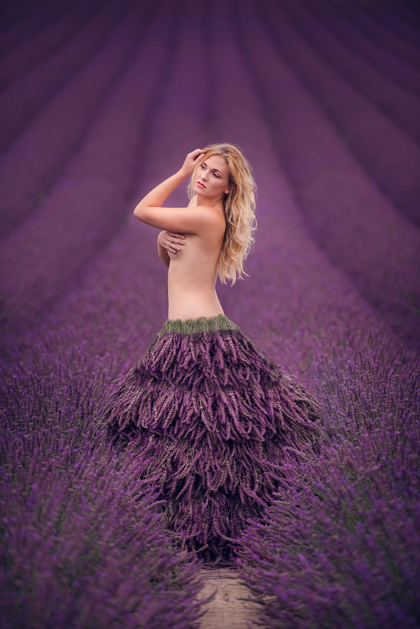 Lavender skirt :)...