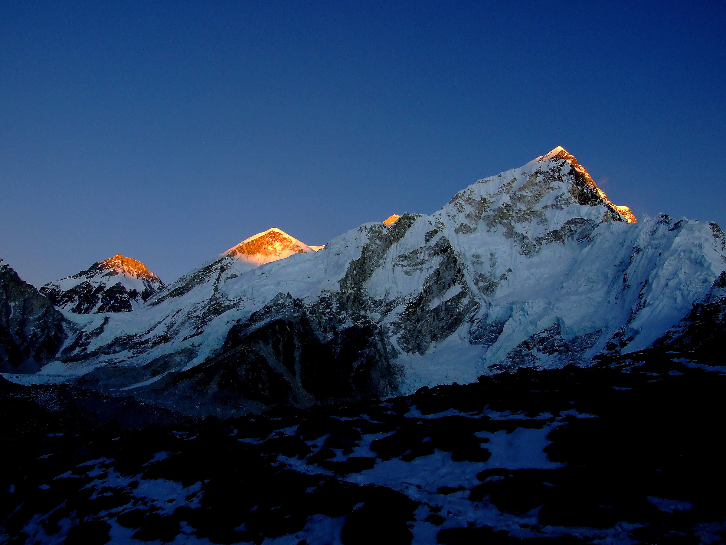 Sunset from Everest C.B. ...
