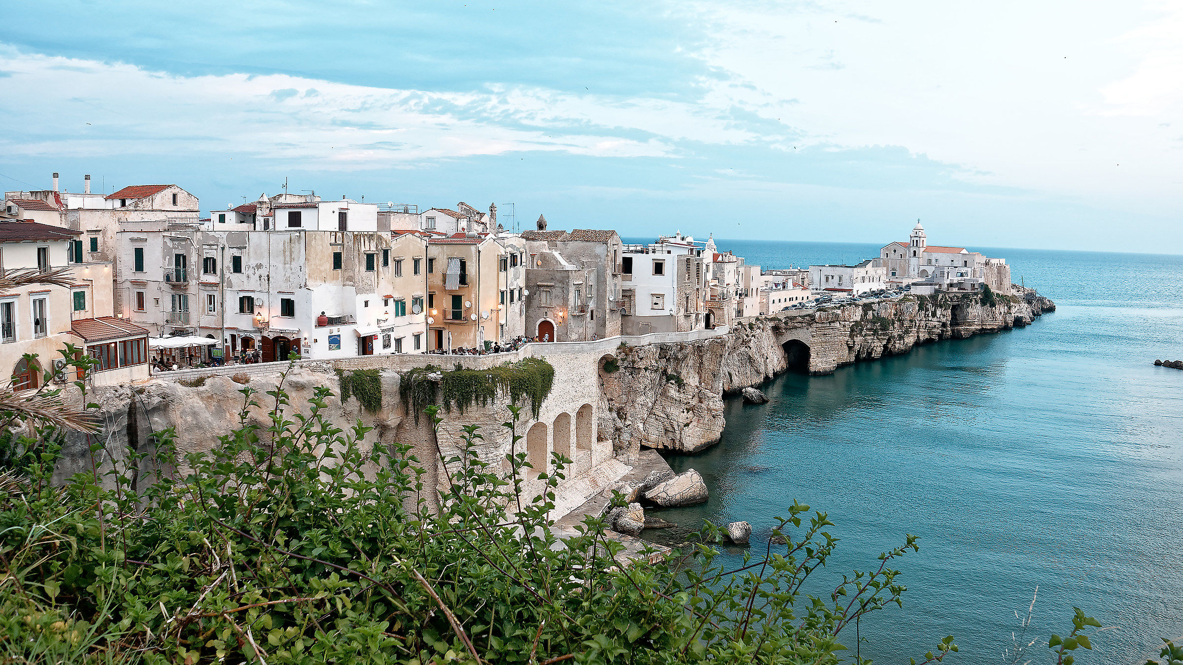 Vieste-old Town...