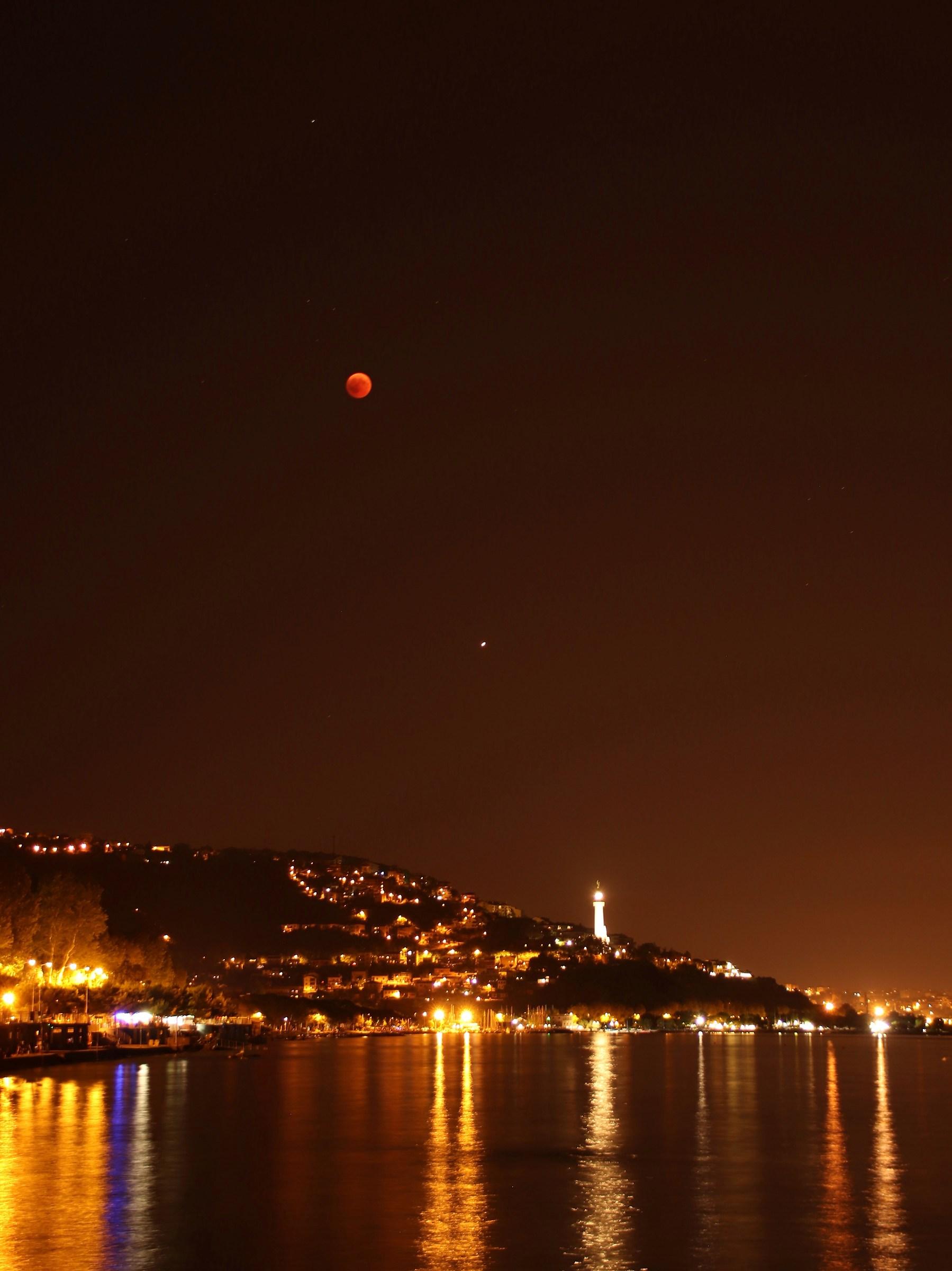 Allineamento Luna - Marte - Faro...