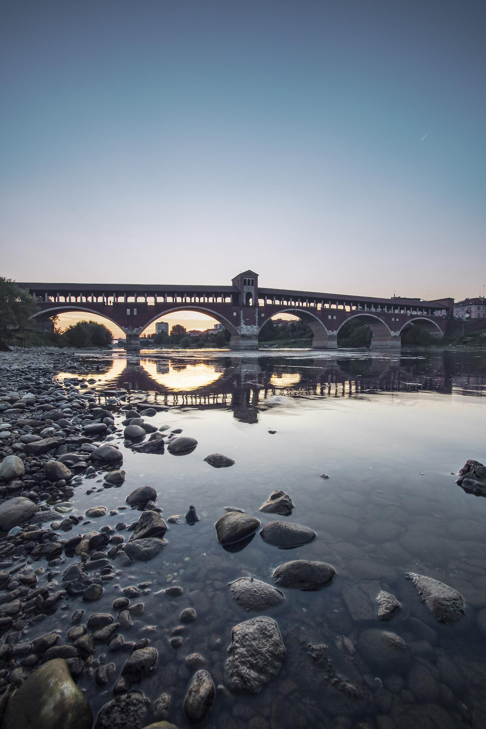Ponte coperto Pavia...