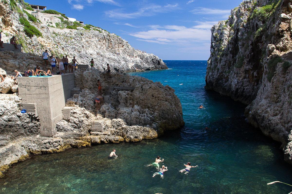 The Bay of the Ciolo...