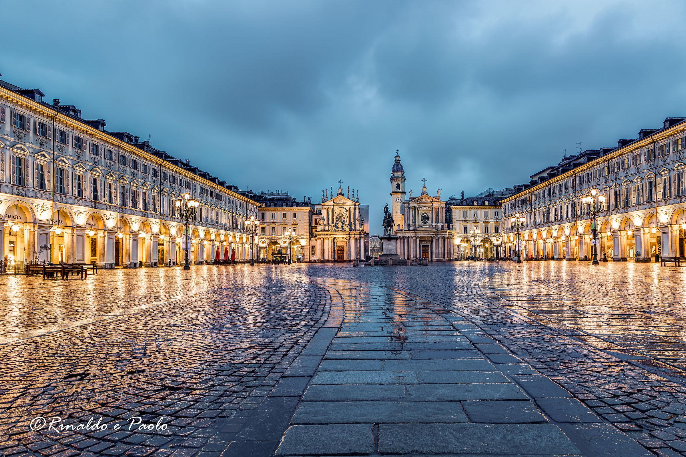 Piazza San Carlo ...
