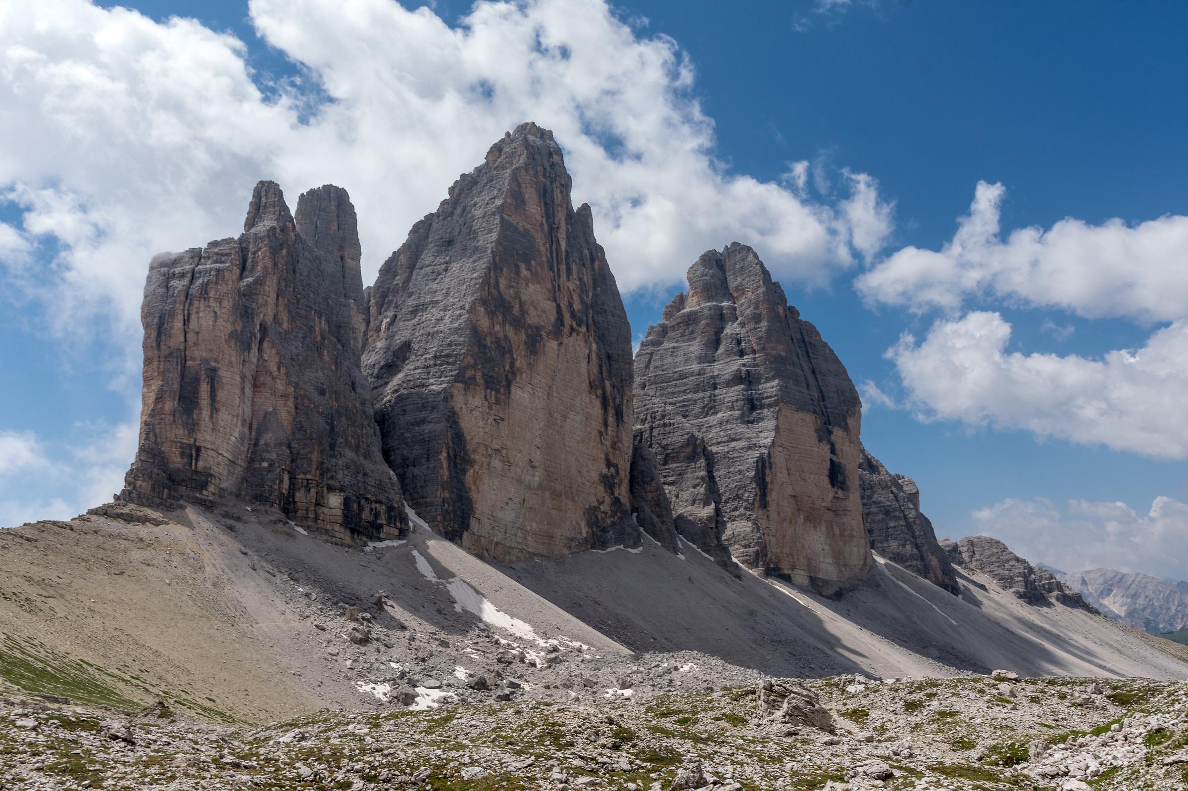 Three peaks of Lavaredo...