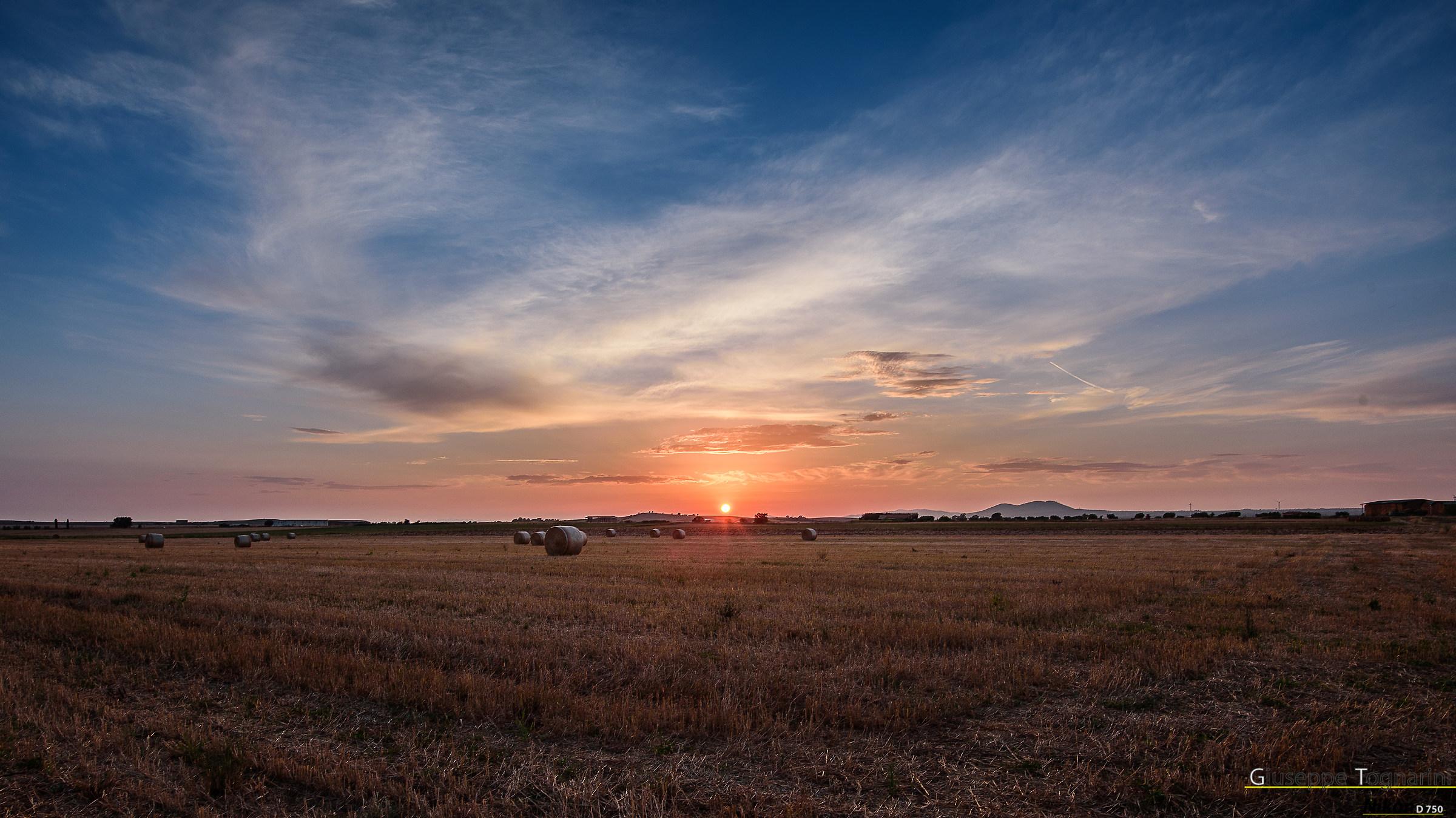 Sunset in Maremma...