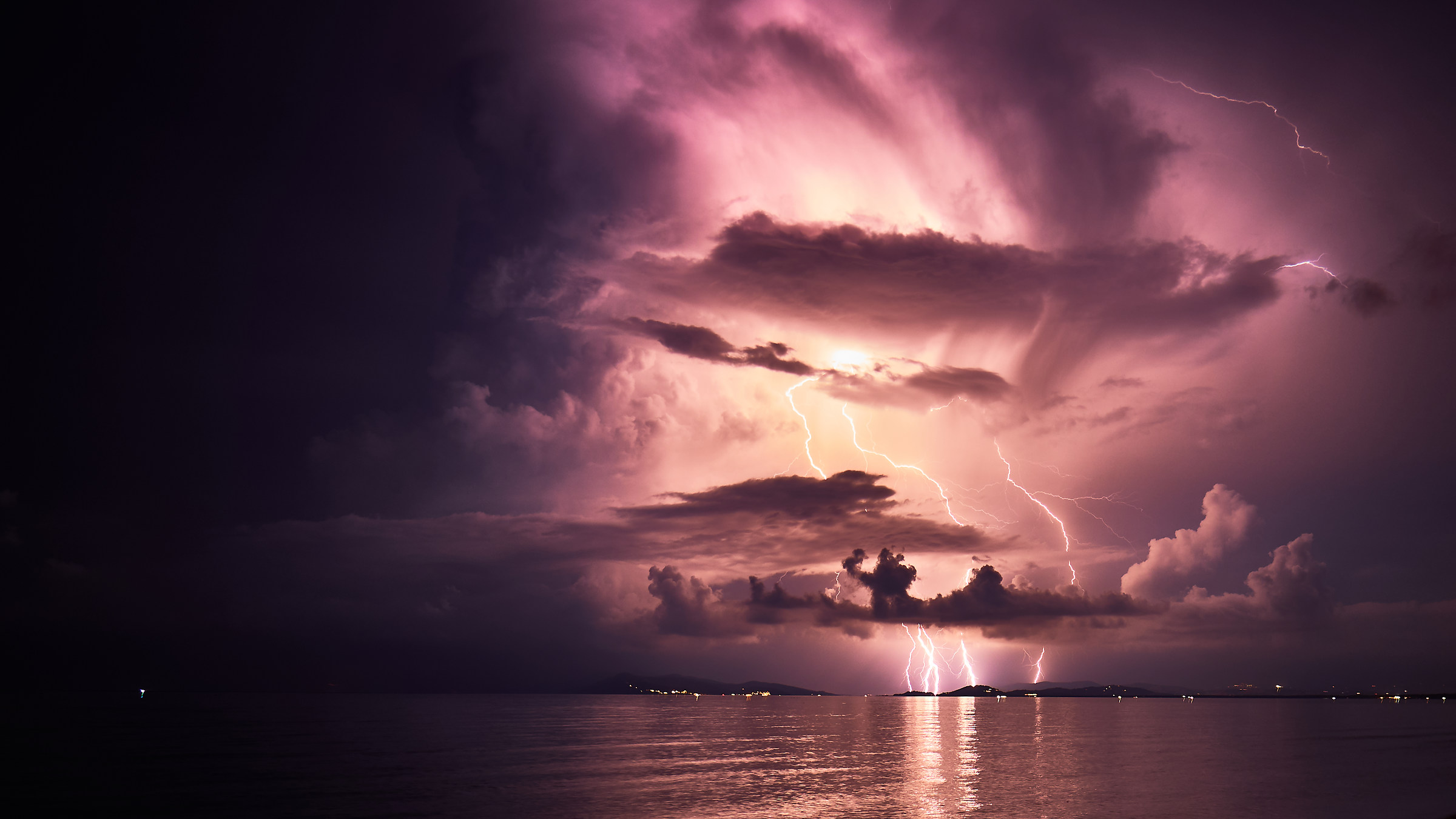 Summer Thunderstorm at Talamone...