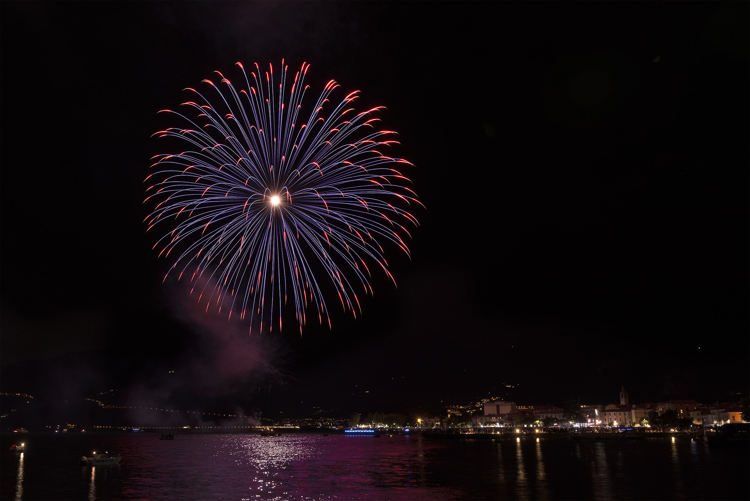 The fire in Iseo...