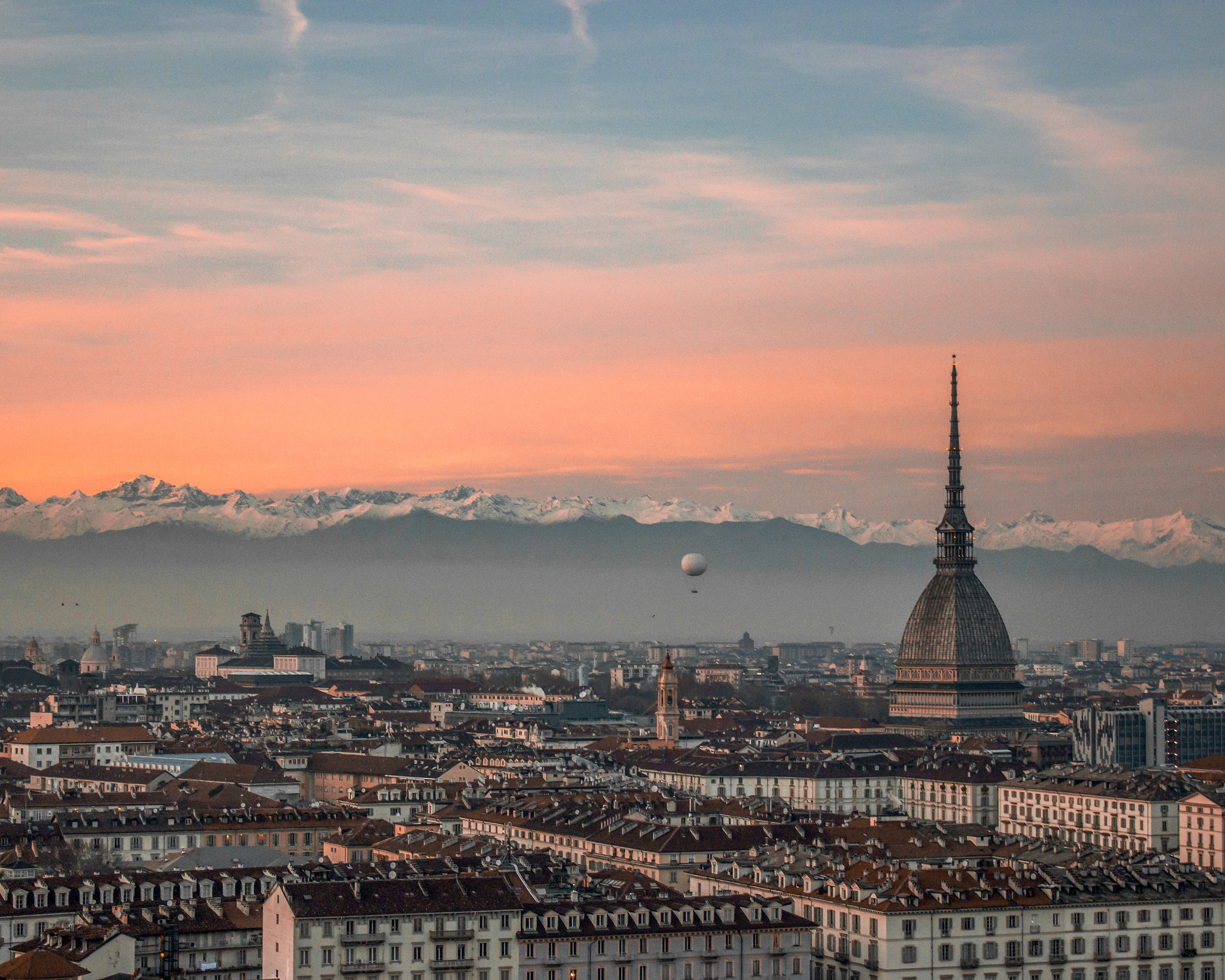 The real time of Turin...
