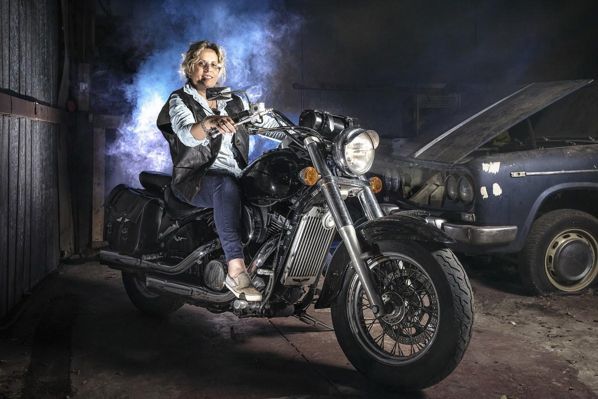 Una mamma biker...