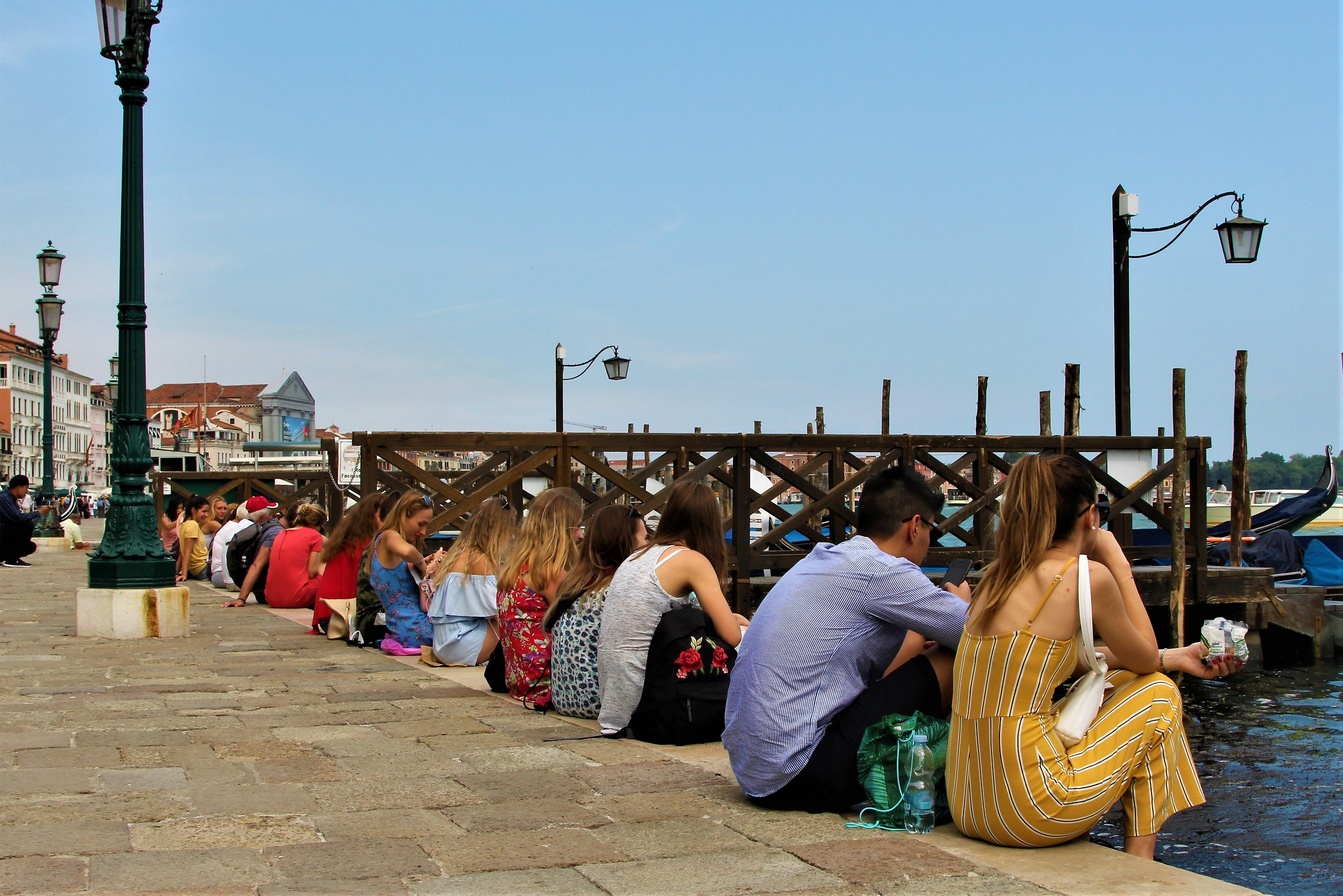 Classico estivo in piazza San Marco...