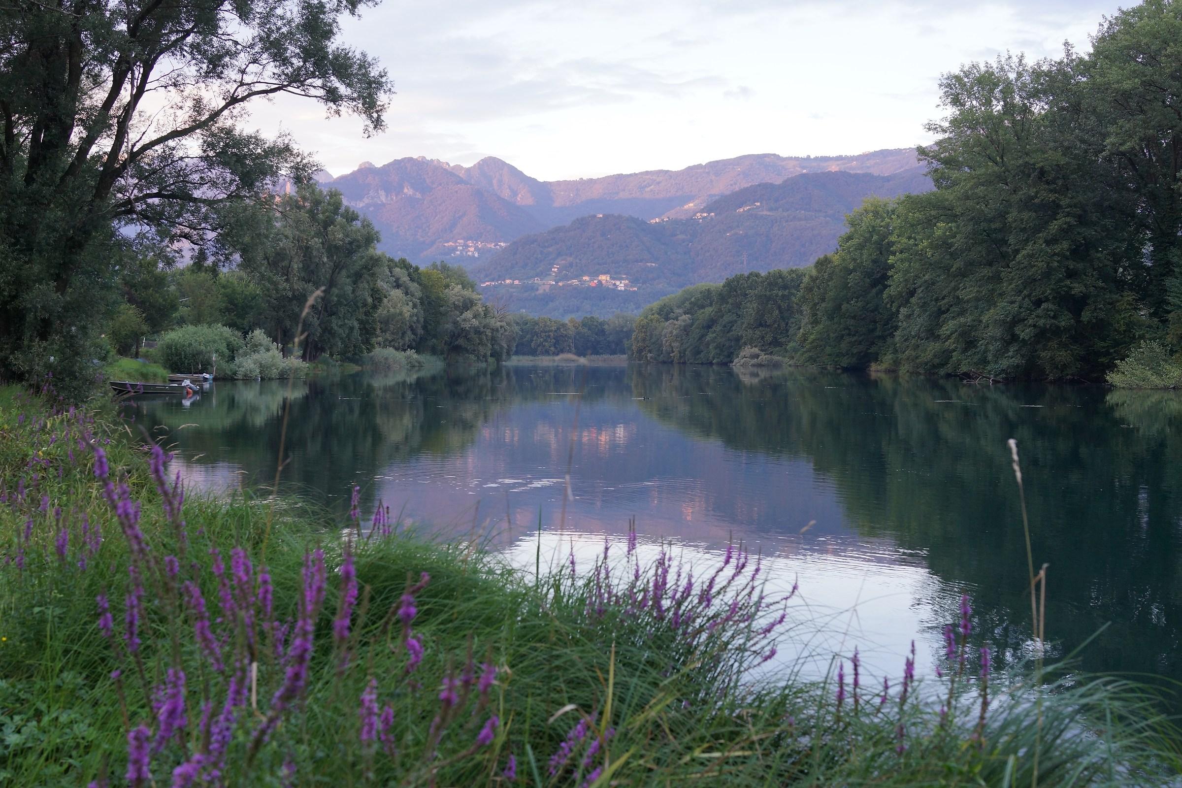 Adda, Reflections at sunset 2...
