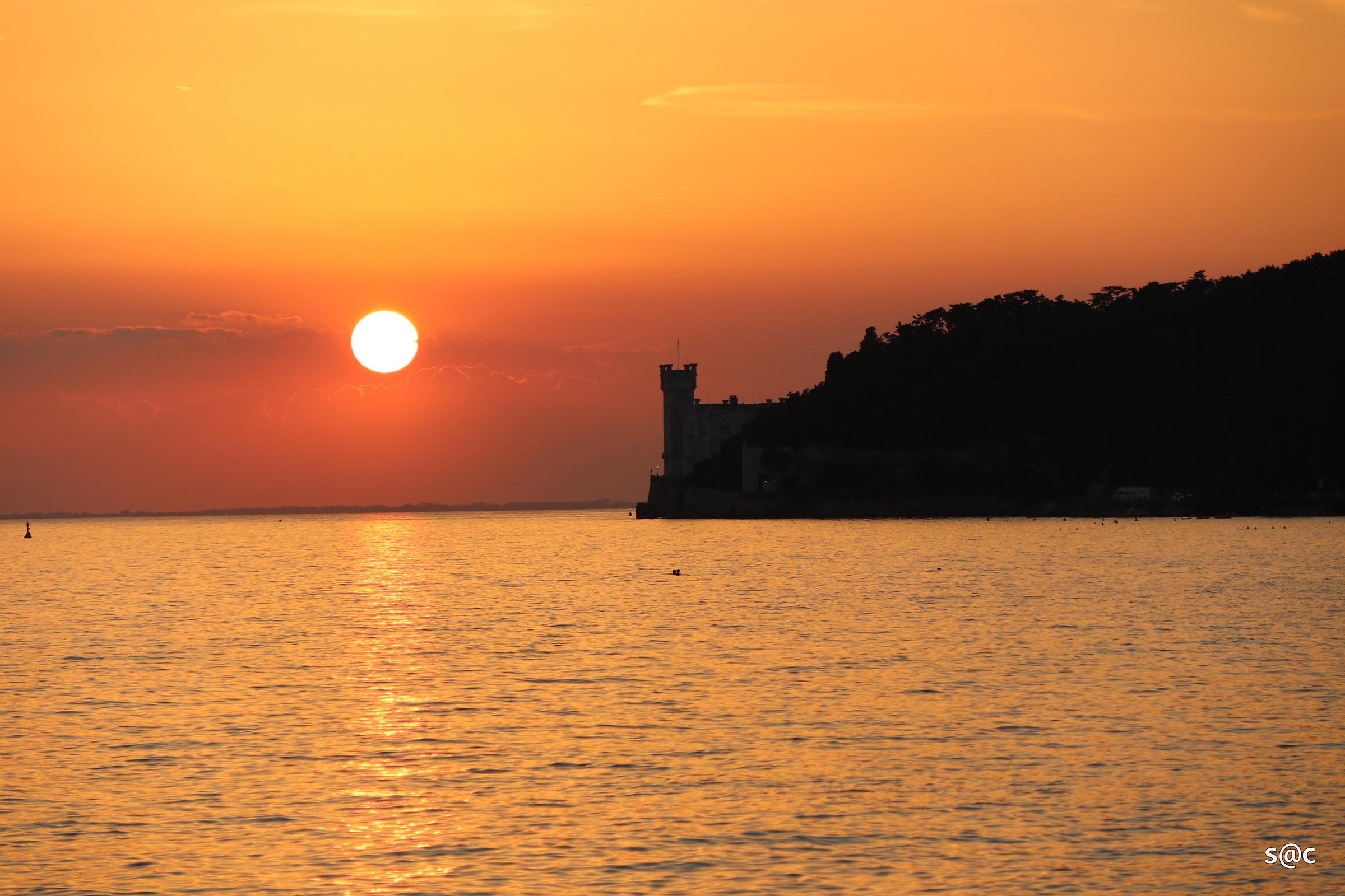Castle of Miramare Trieste...