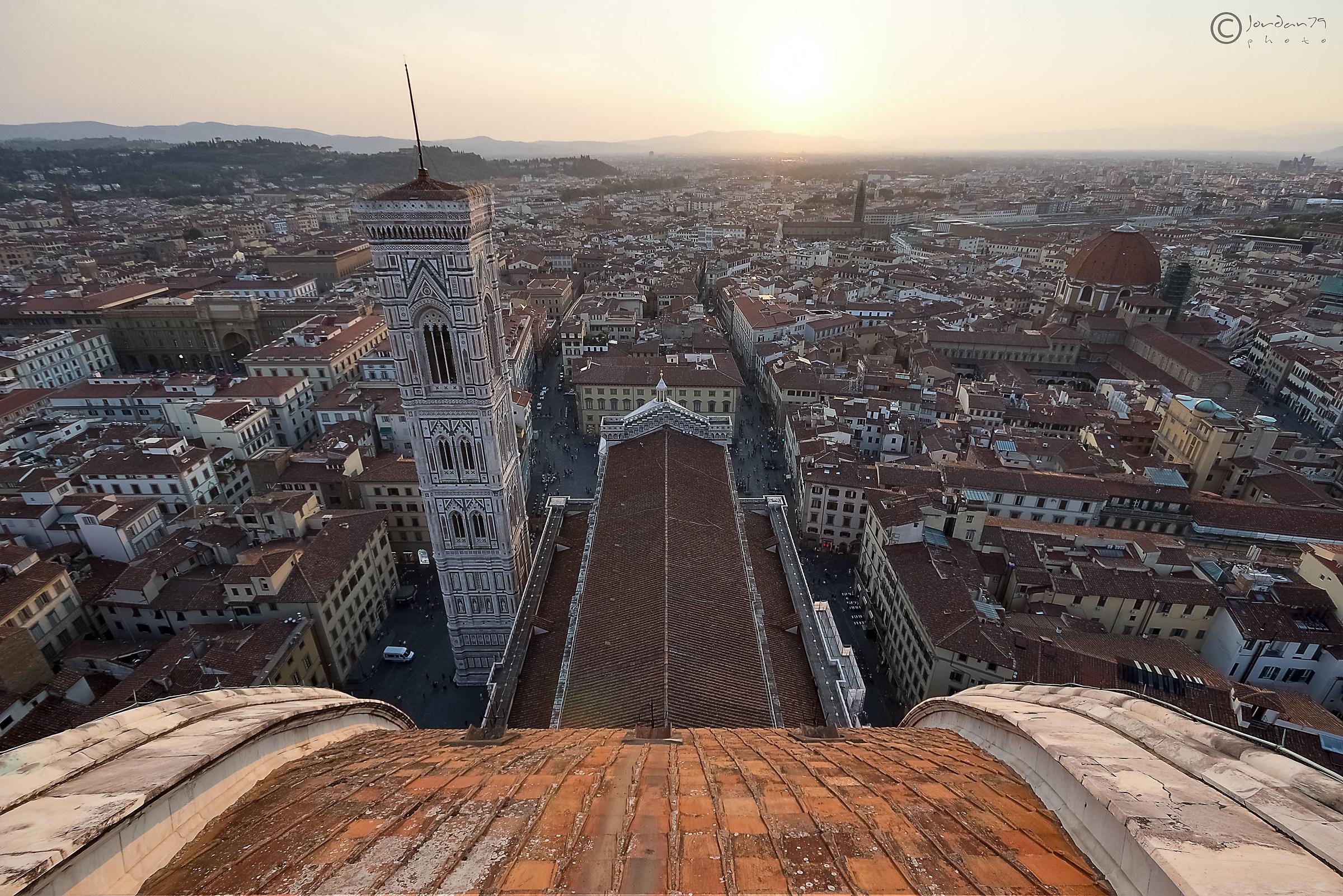 Slipping towards Florence!......