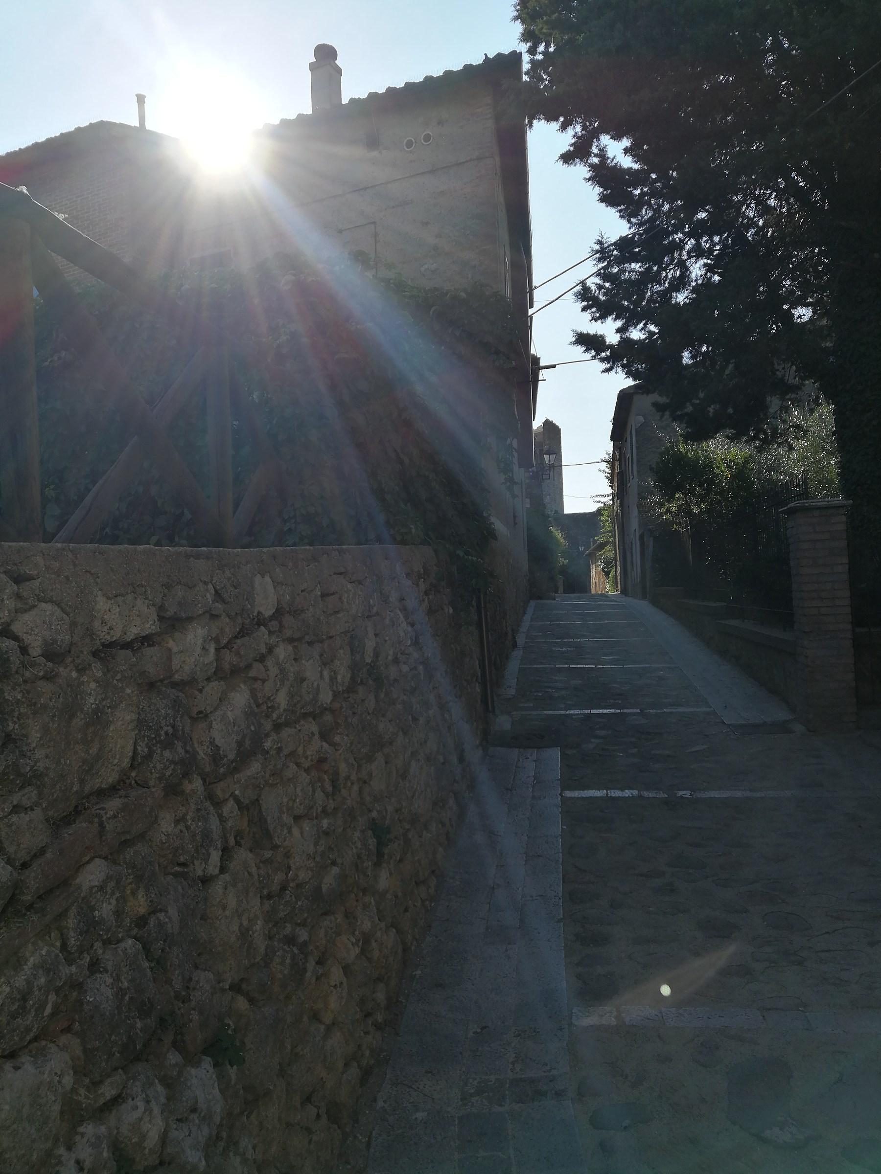 Reflections in Monteriggioni...