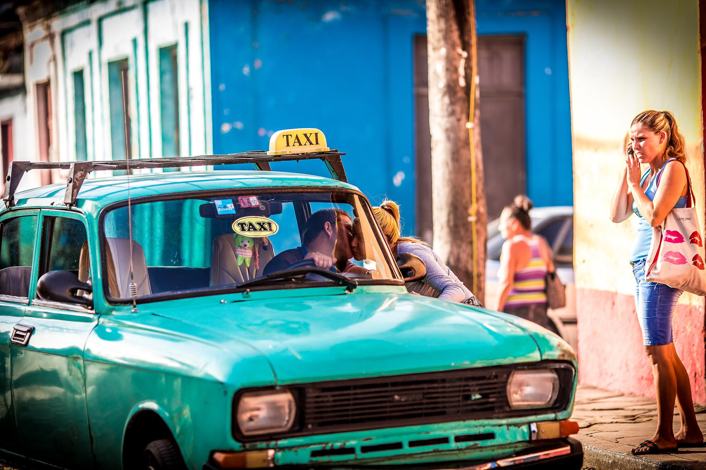 Taxi Driver in Trinidad...