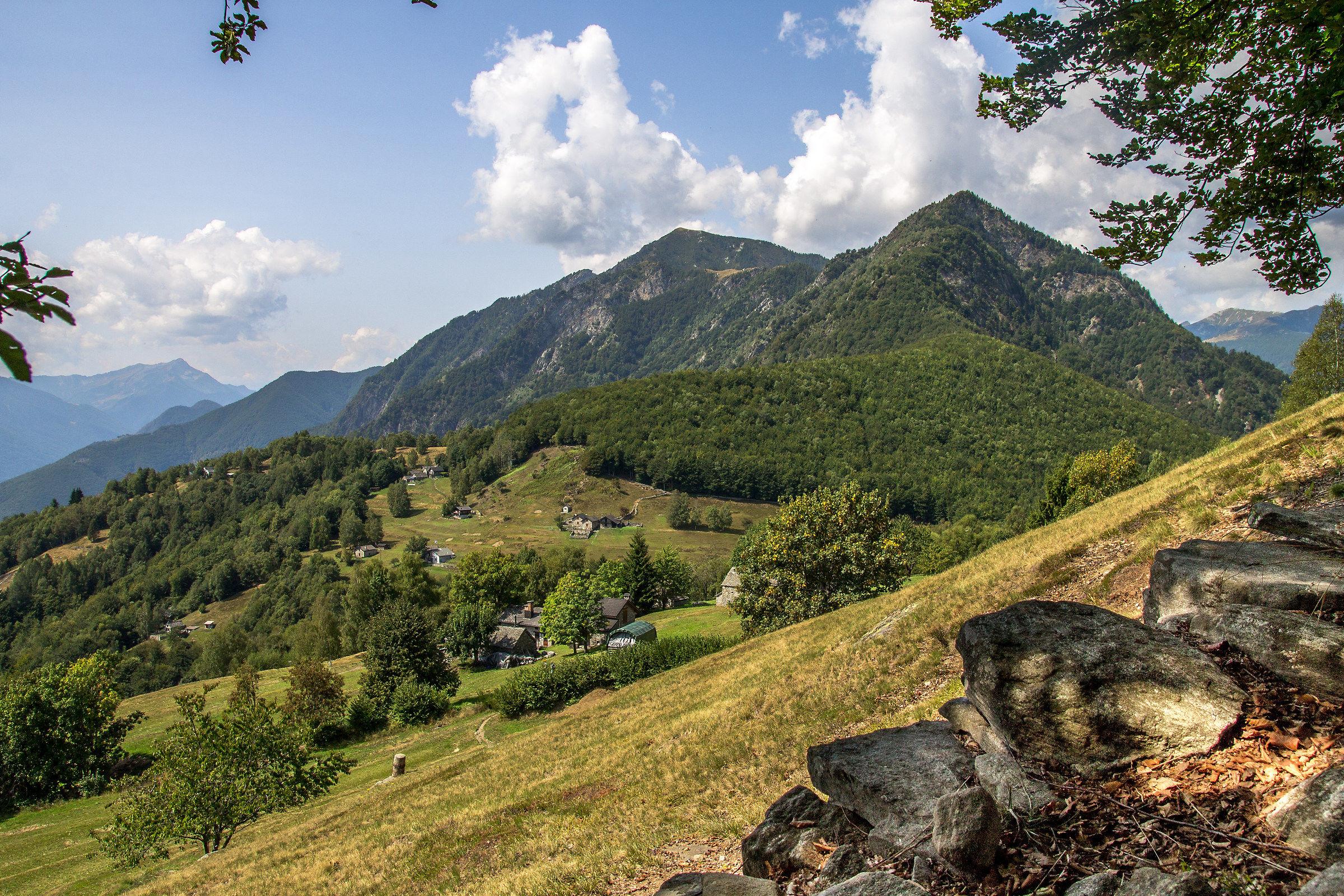 Monte Comino - Centovalli...