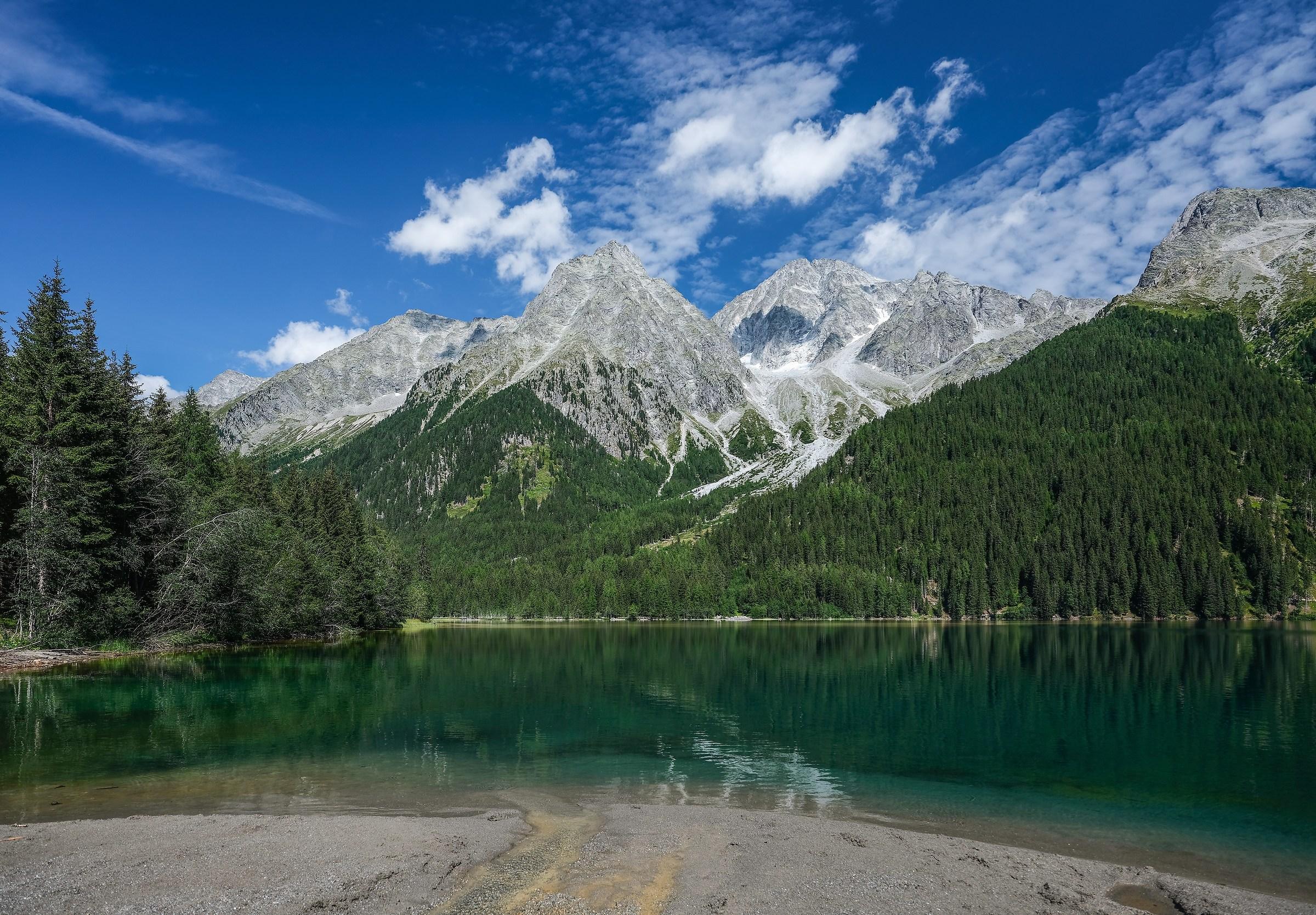 Lake Anterselva ...
