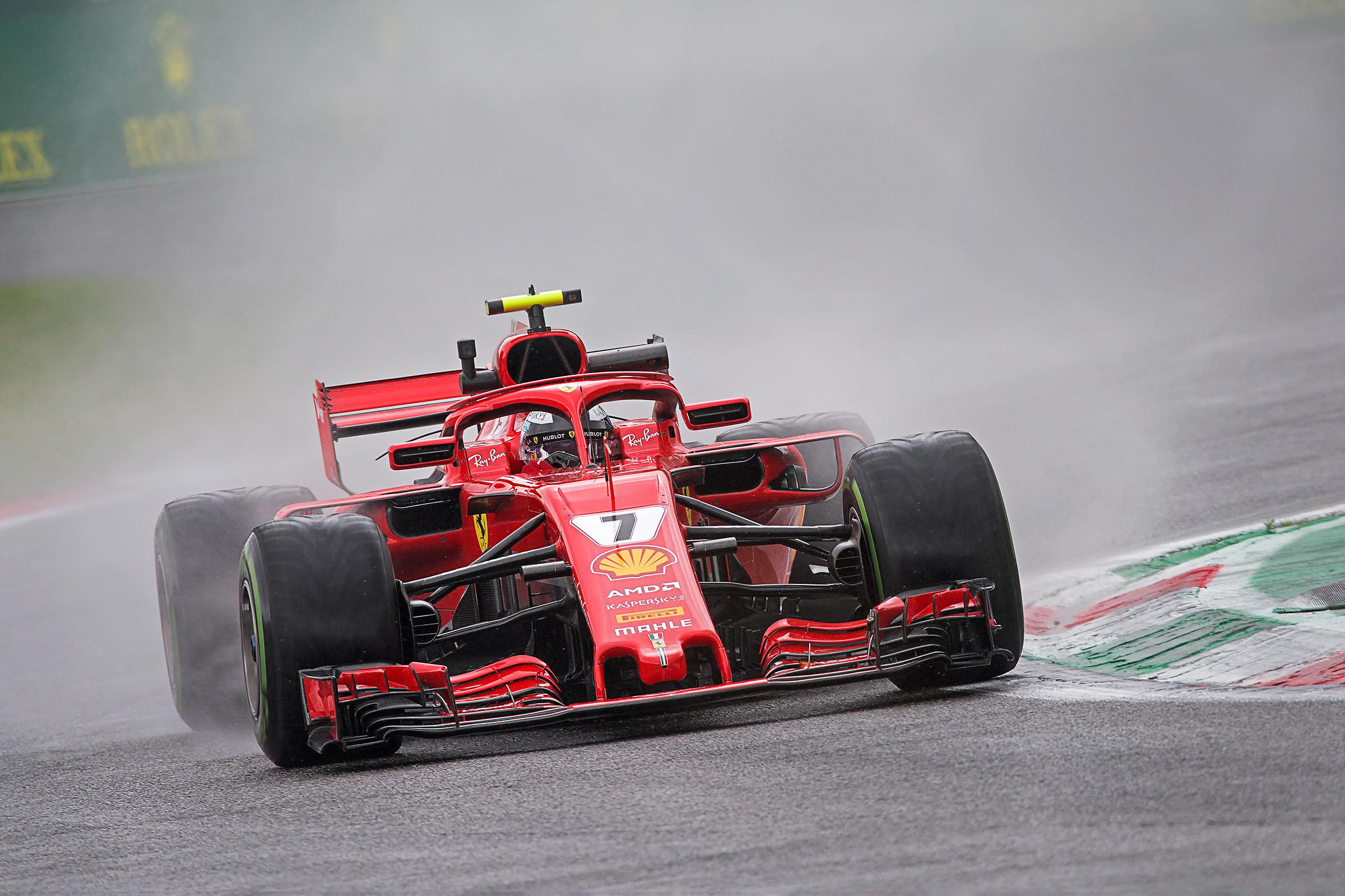 Raikkonen Monza Poleman...