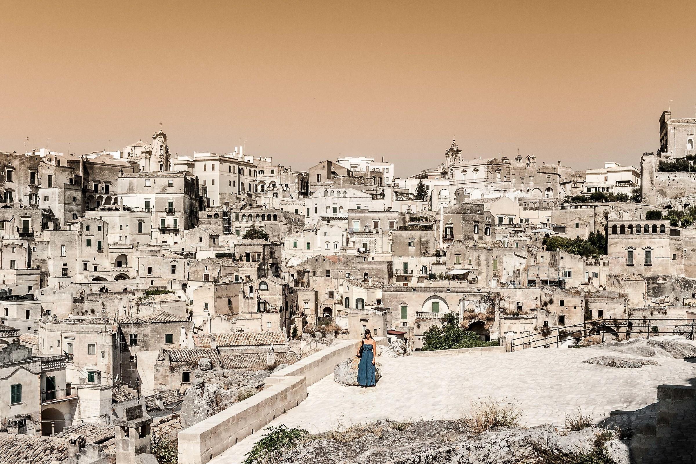 Matera World Heritage Site...