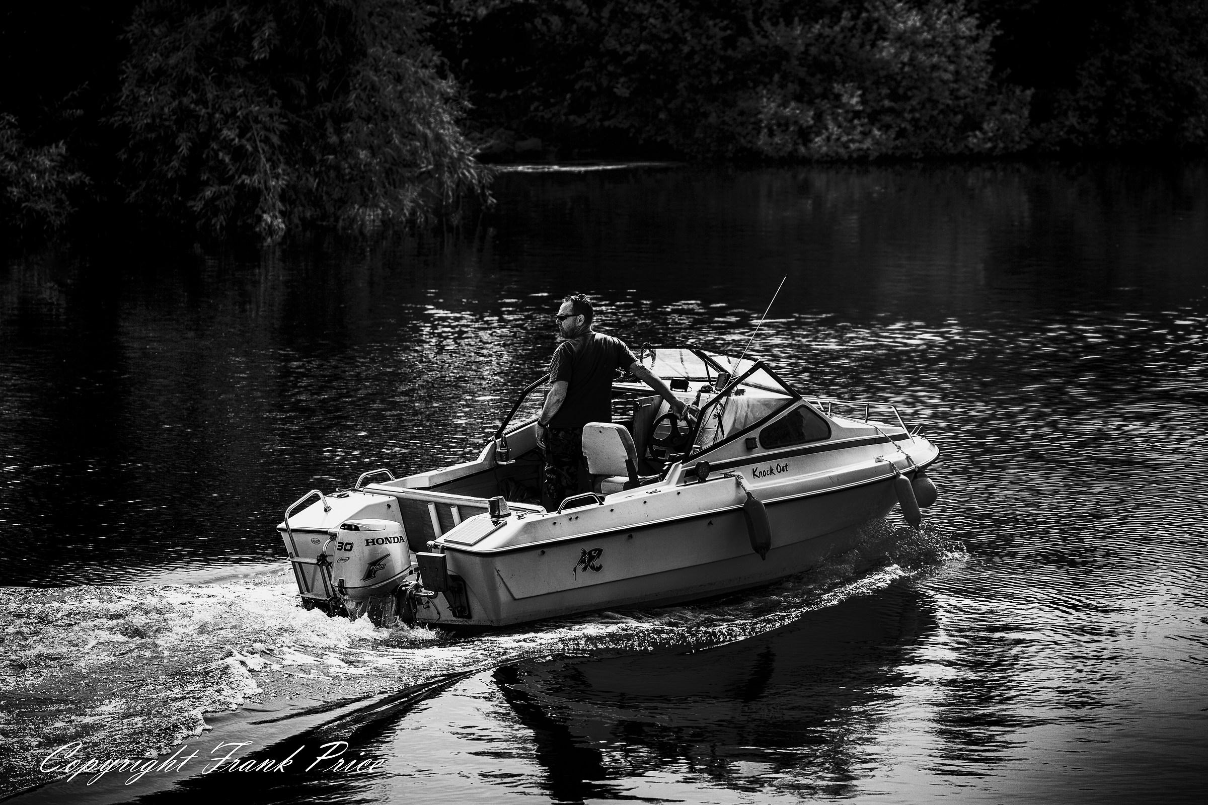 Un uomo e la sua barca...