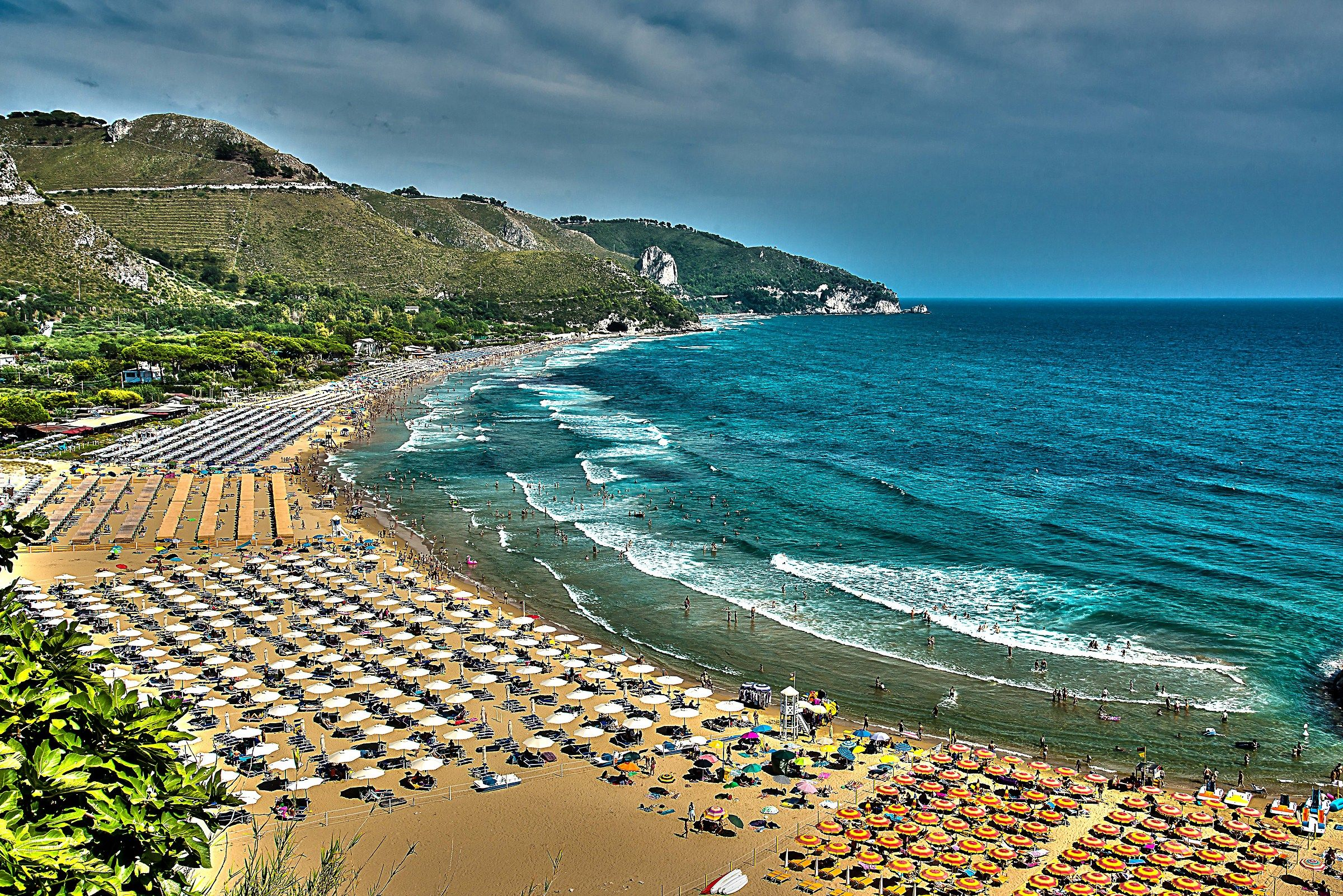 Beach of Sperlonga...