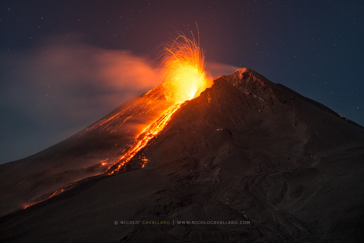 Etna-New southeast crater...