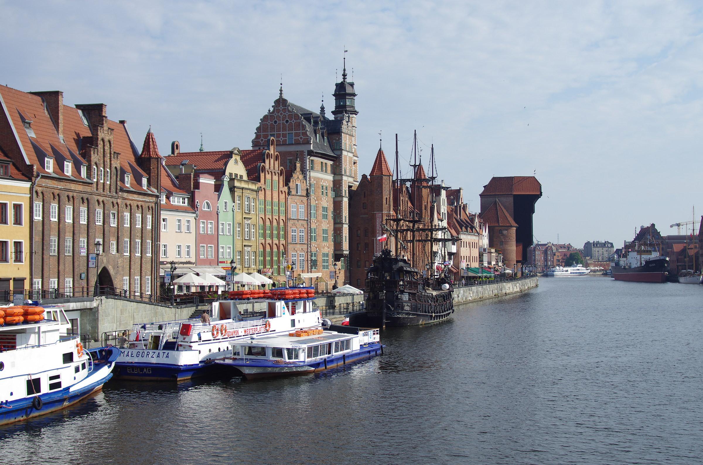 Gdansk - Motława...