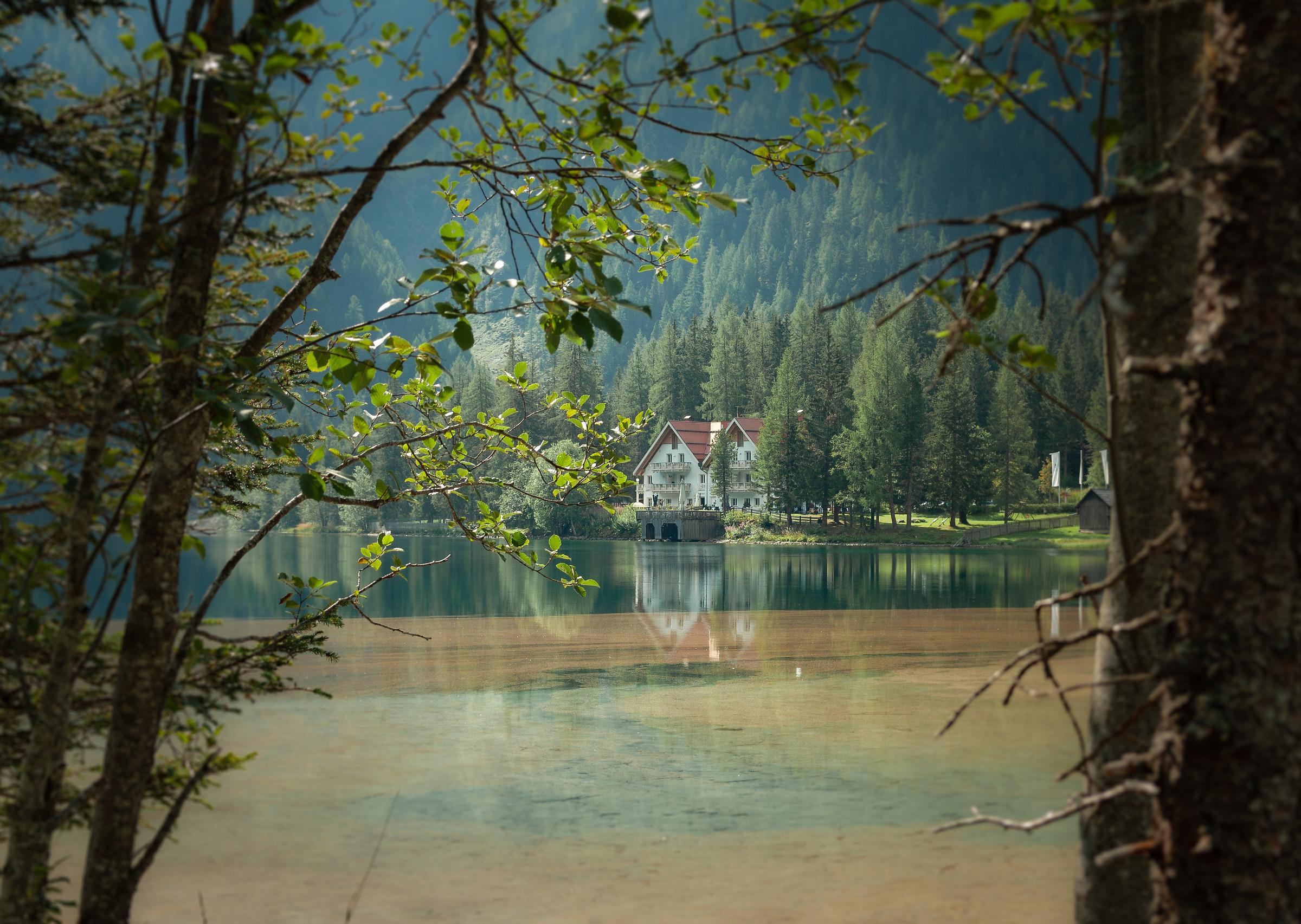 Lake Anterselva...