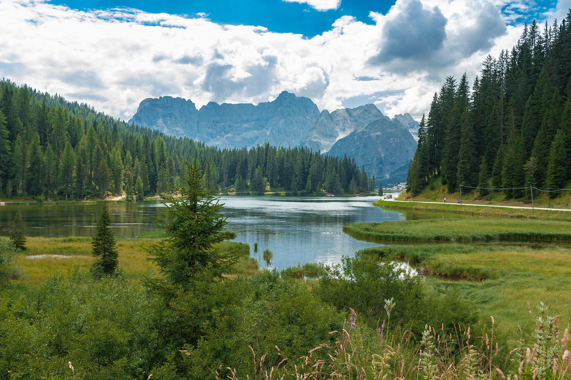 Lake of Misurina...