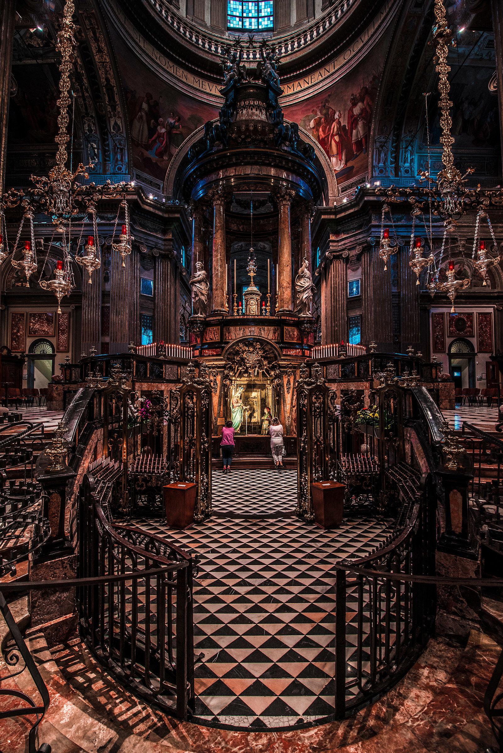 Shrine of Caravaggio...