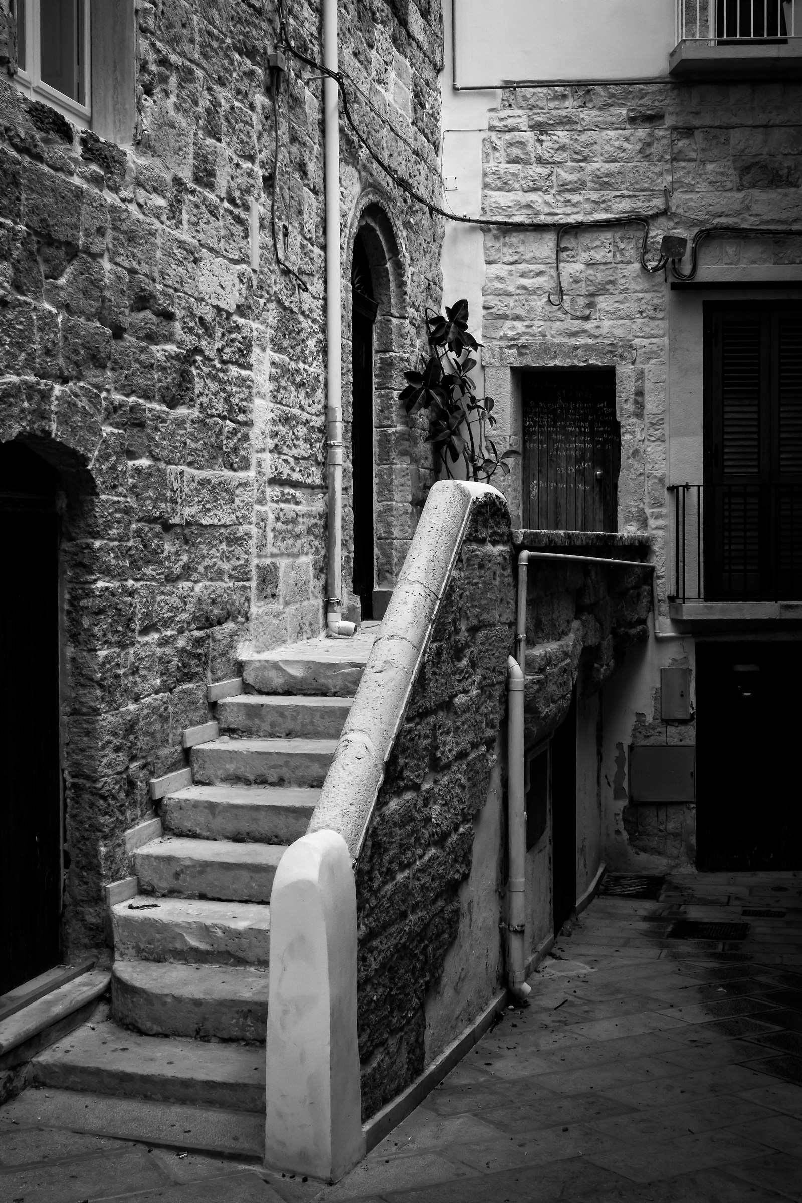 The alleys of Polignano......