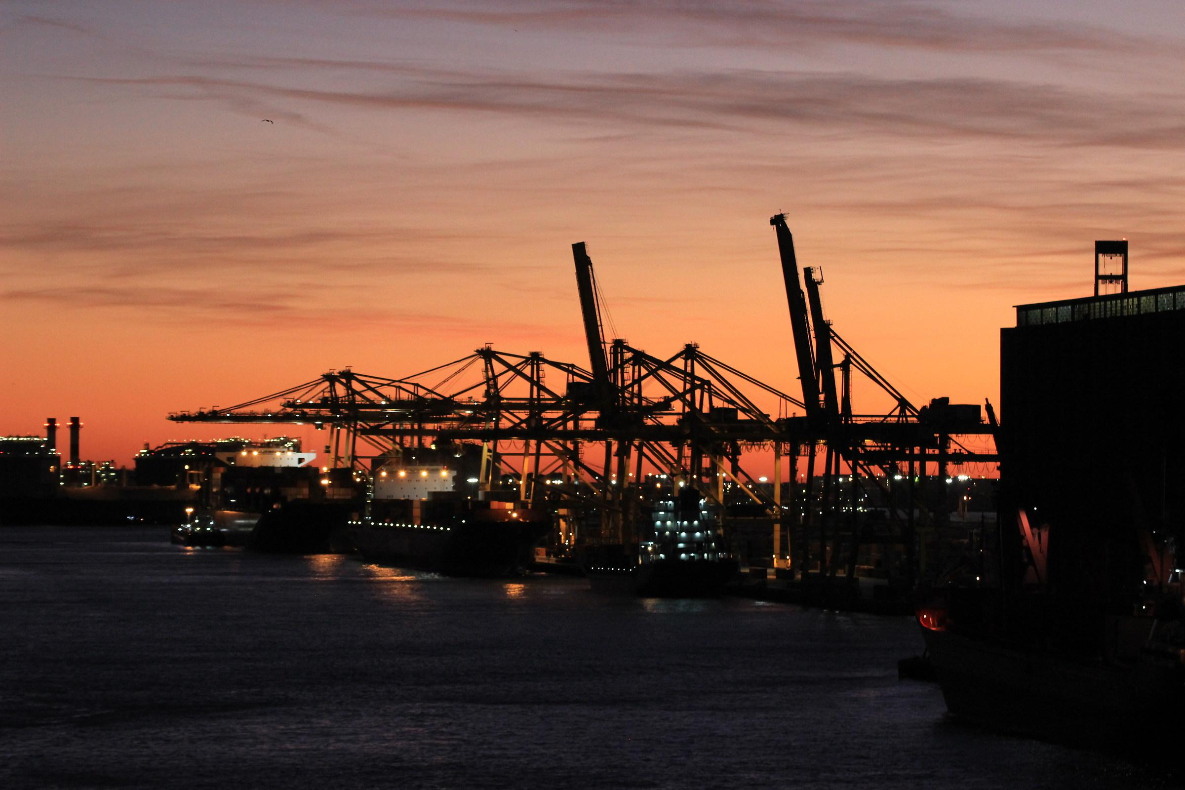 Port of Barcelona...