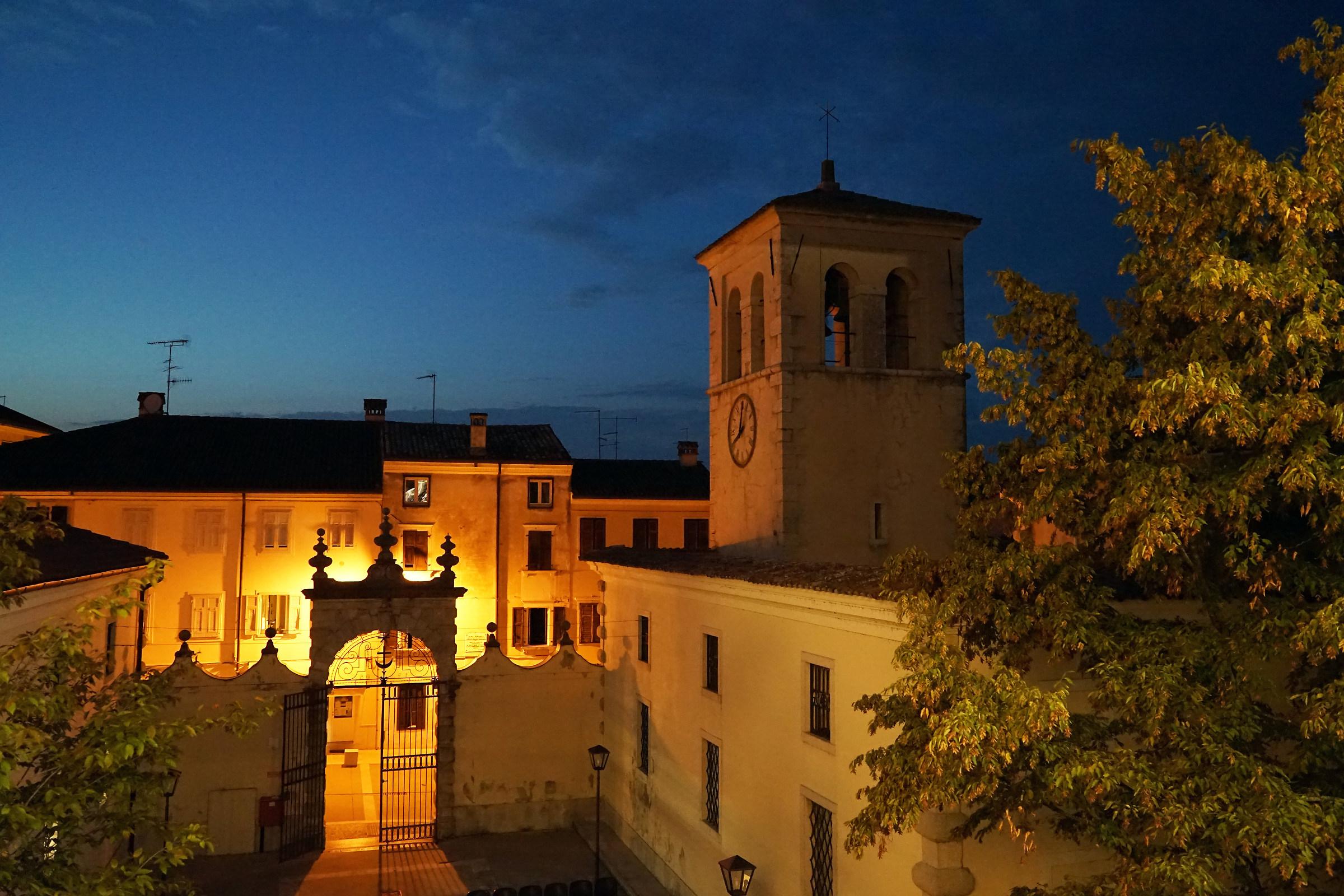 Il Duomo di Gradisca d'Isonzo...