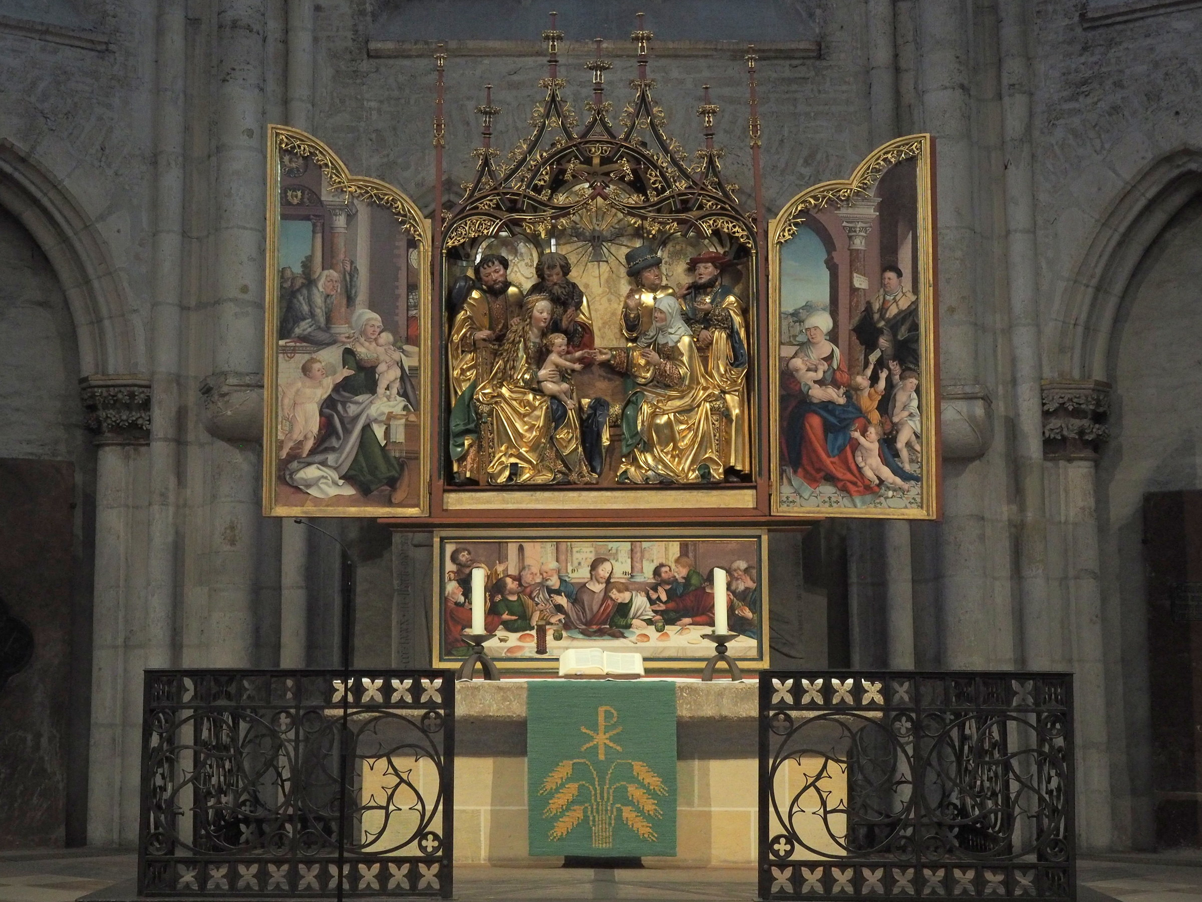 Interior Cathedral of ULM (Germany)...