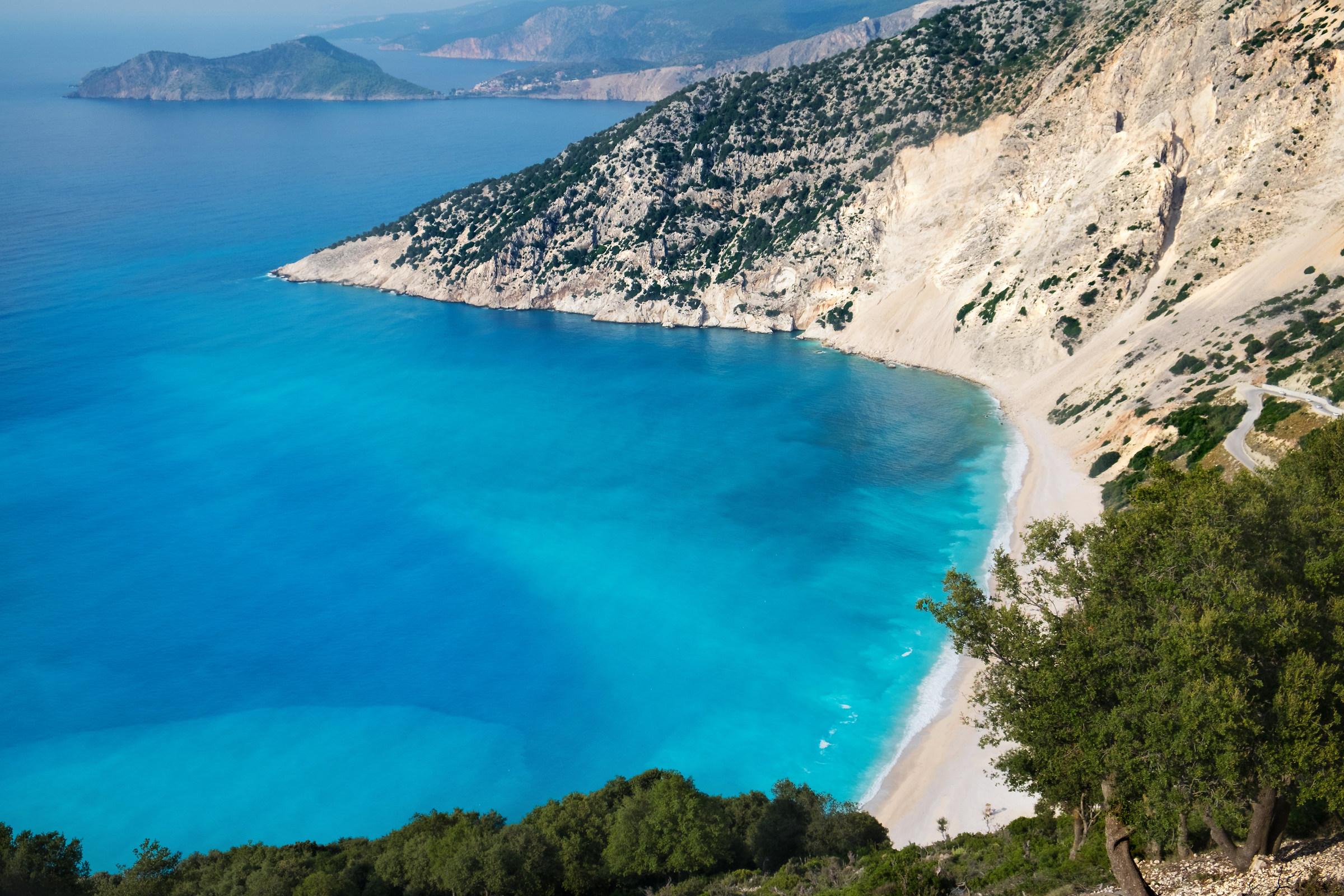 Kefalonia-Myrtos Beach...
