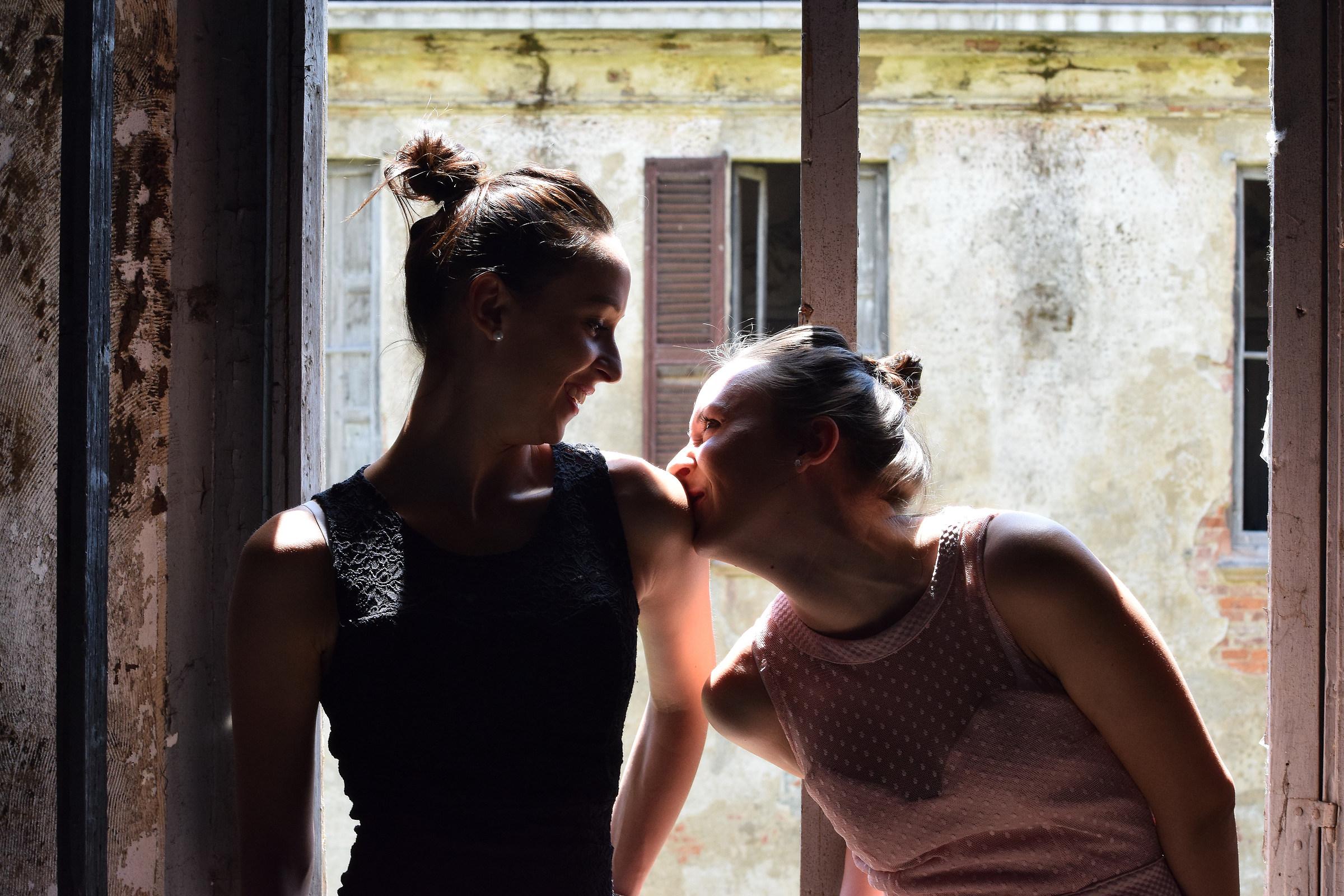 ... Silvia e Laura ......
