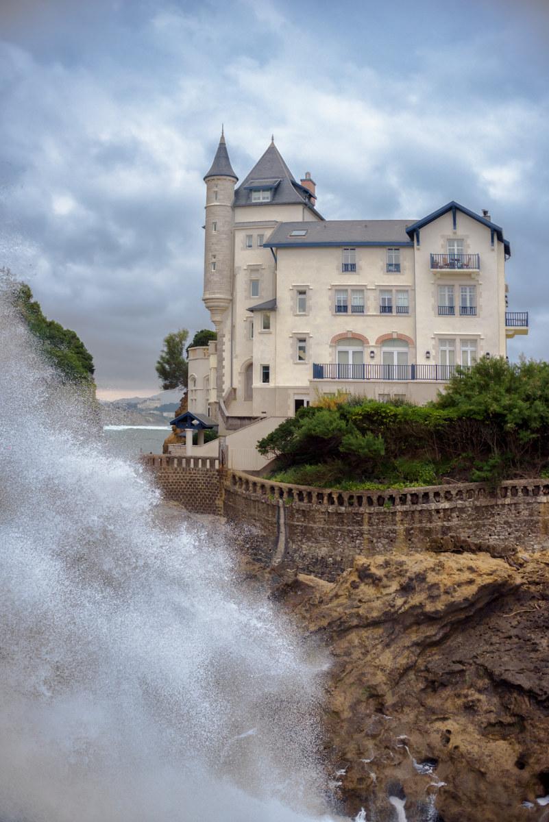 Biarritz... along the coast!...