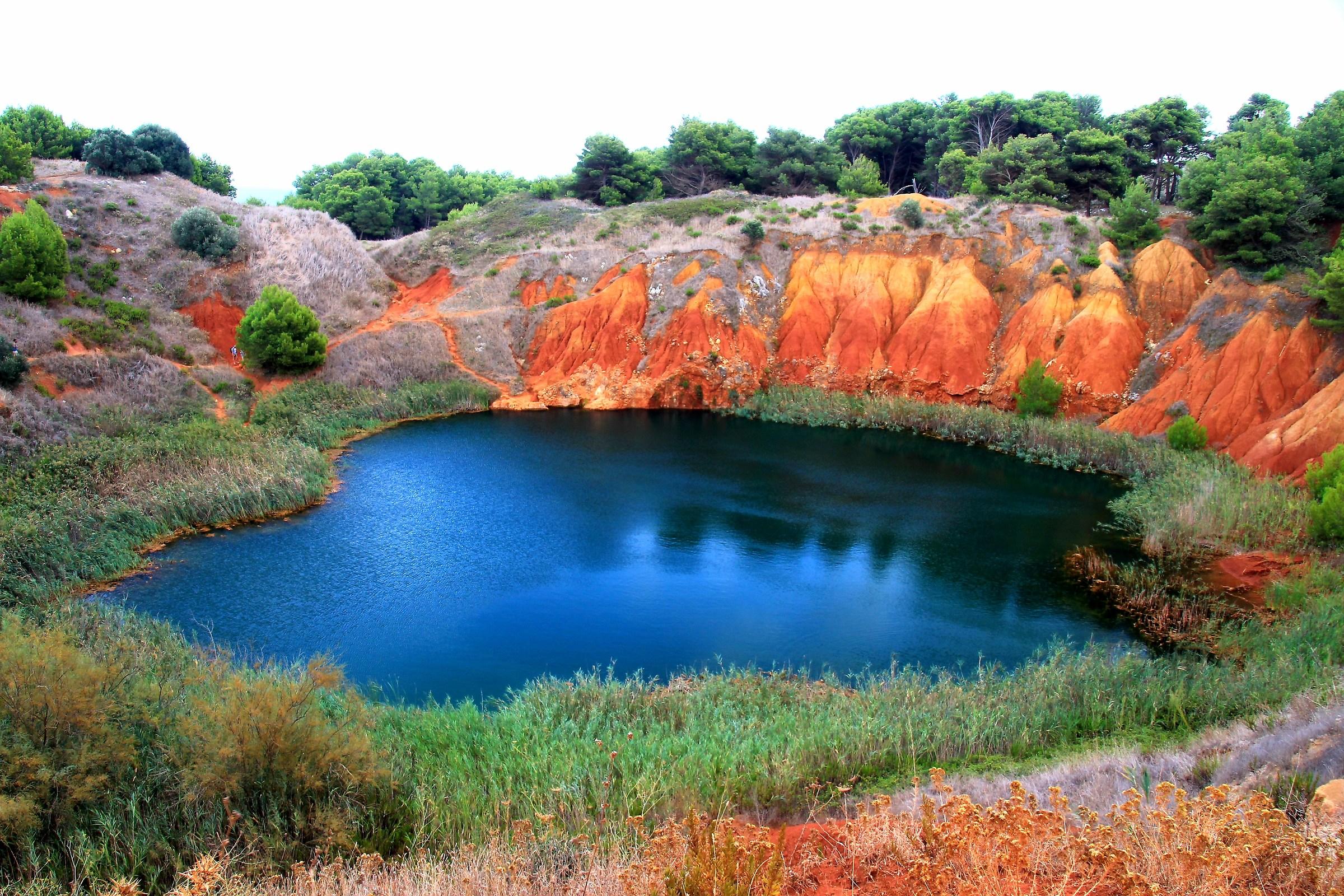 Cava di Bauxite - Otranto...