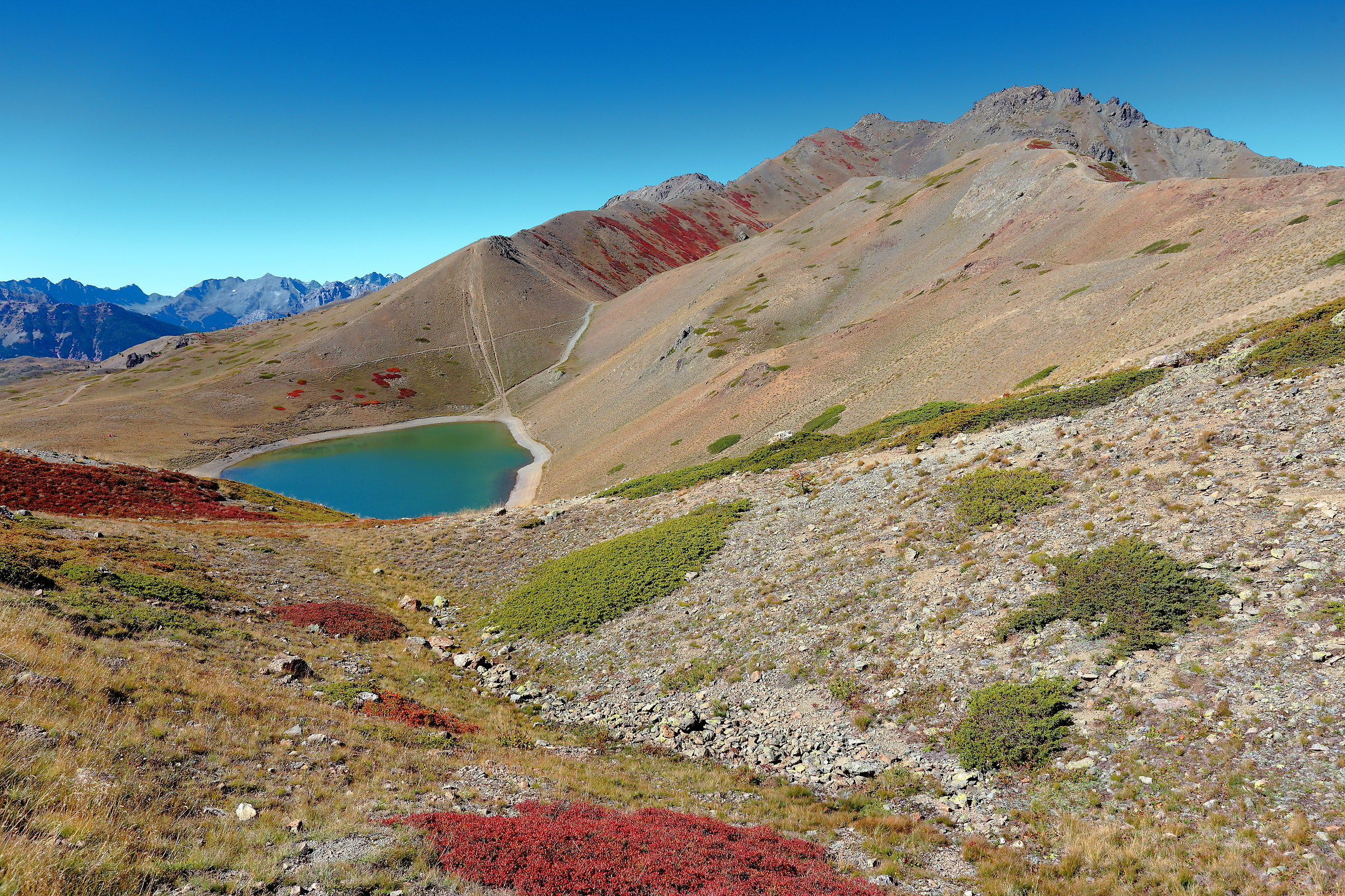 The 7 colors Lake...